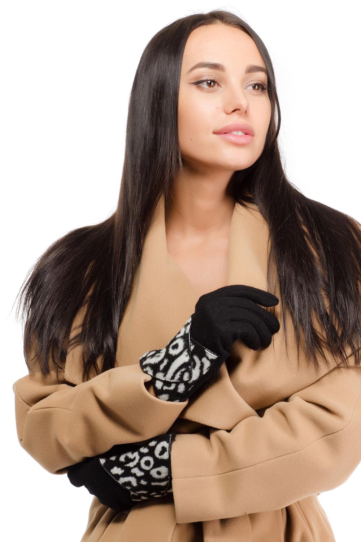 95021-12BСтильные женские перчатки Moltini изготовленные из высококачественных материалов, станут идеальным вариантом для прохладной погоды. Они хорошо сохраняют тепло, мягкие, идеально сидят на руке и отлично тянутся. Перчатки дополнены укрепленным манжетом с оборкой из искусственной кожи, который оформлен леопардовым принтом.