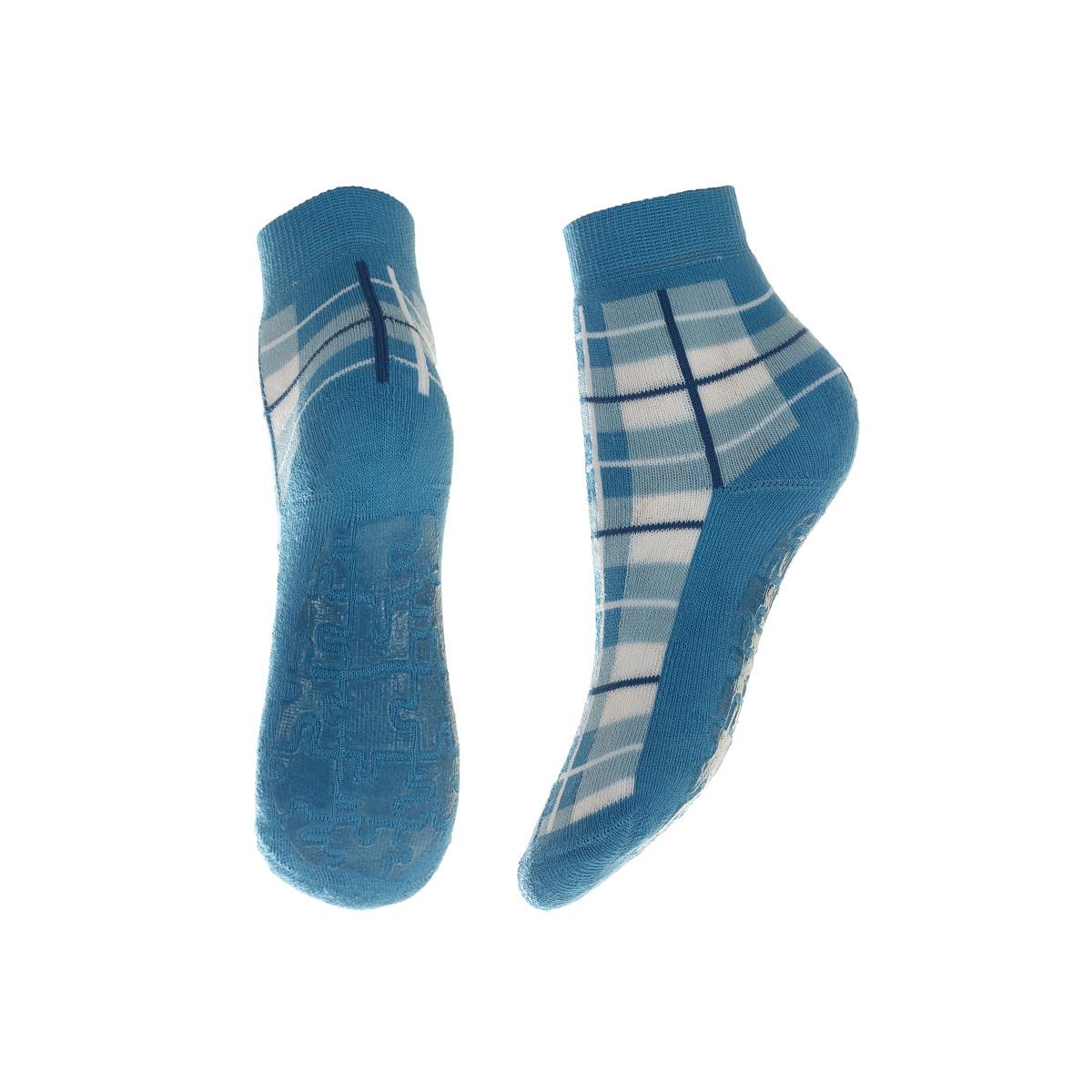 НоскиSOFTIKI11910-234Удобные носки с антискользящим эффектом Conte-Kids Sof-Tiki, изготовленные из высококачественного комбинированного материала, очень мягкие и приятные на ощупь, позволяют коже дышать. Эластичная резинка плотно облегает ногу, не сдавливая ее, обеспечивая комфорт и удобство. Удобные и комфортные носки великолепно подойдут к любой обуви.