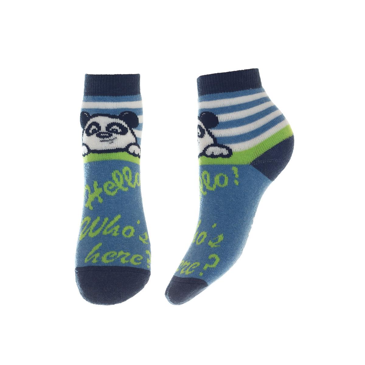 SOFTIKI22911-234Удобные носочки для мальчика Conte-Kids Sof-tiki, изготовленные из высококачественного комбинированного материала, очень мягкие и приятные на ощупь, позволяют коже дышать. Модель оформлена эластичной резинкой в паголенке, которая плотно облегает ногу, обеспечивая комфорт и удобство