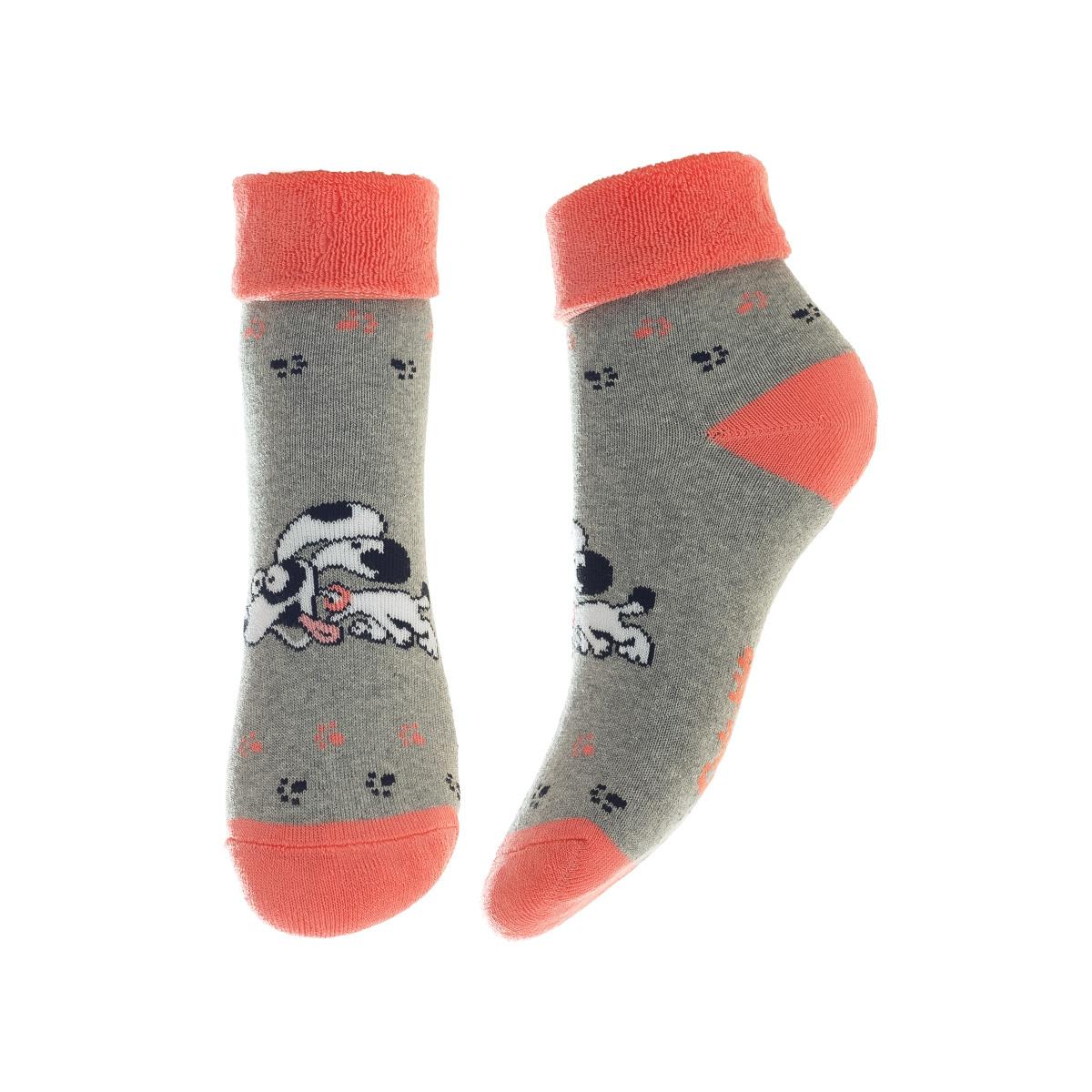 НоскиSOFTIKI22320-236Удобные носочки для девочки Conte-Kids Sof-tiki, изготовленные из высококачественного комбинированного материала, очень мягкие и приятные на ощупь, позволяют коже дышать. Модель оформлена махровым отворотом на паголенке и эластичной резинкой, которая плотно облегает ногу, обеспечивая комфорт и удобство.
