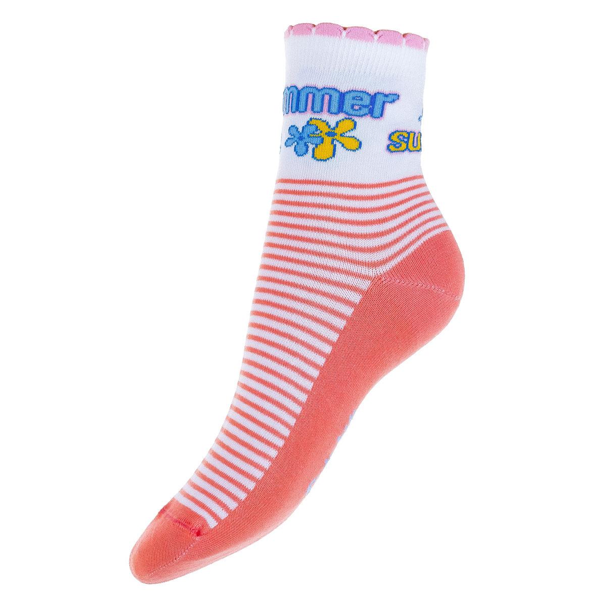 Носки739117021-239Удобные носочки для девочки Conte-Kids Tip-top, изготовленные из высококачественного комбинированного материала, очень мягкие и приятные на ощупь, позволяют коже дышать. Модель оформлена эластичной резинкой в паголенке, которая плотно облегает ногу, обеспечивая комфорт и удобство. Носки оформлены ярким принтом.