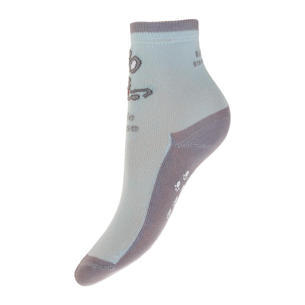 Носки10010-234Удобные носки для мальчика с антискользящим покрытием Conte-Kids Tip-Top, изготовленные из высококачественного комбинированного материала, очень мягкие и приятные на ощупь, позволяют коже дышать. Эластичная резинка плотно облегает ногу, не сдавливая ее, обеспечивая комфорт и удобство. Удобные и комфортные носки великолепно подойдут к любой обуви.