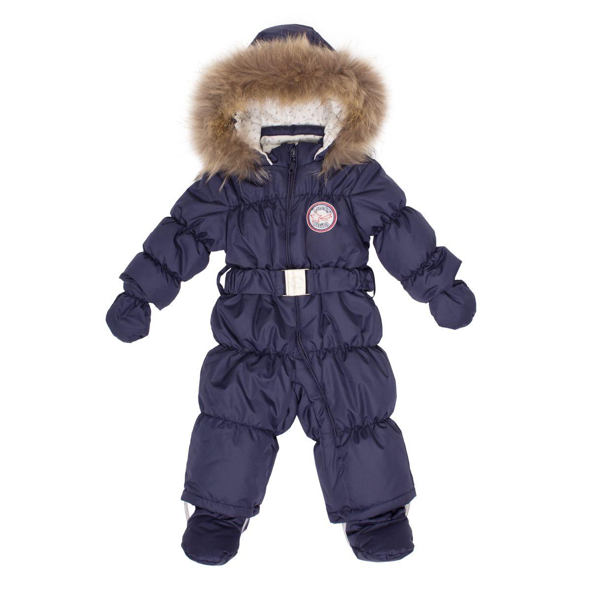 Комбинезон утепленныйВ1-3Этой зимой вашему малышу предстоит впервые увидеть снег? Подберите для этого важного знакомства удобный и тёплый комбинезон Lucky Child! Он выполнен из курточной ткани с влагостойкой пропиткой, а значит, не промокнет, даже если Ваша кроха, знакомясь со снегом, решит нырнуть в сугроб. Наполнитель – лёгкий и тёплый Isosoft, который позволит ребёнку не мёрзнуть при температуре до -30° и при этом вести активную деятельность во время прогулки. Трикотажная подкладка (кулирка) обладает воздухопроницаемыми и водоотводными свойствами, что очень важно, если малыш вспотеет. Капюшон оторочен натуральным мехом енота. Ножки и ручки малыша утеплят отстёгивающиеся варежки и сапожки.