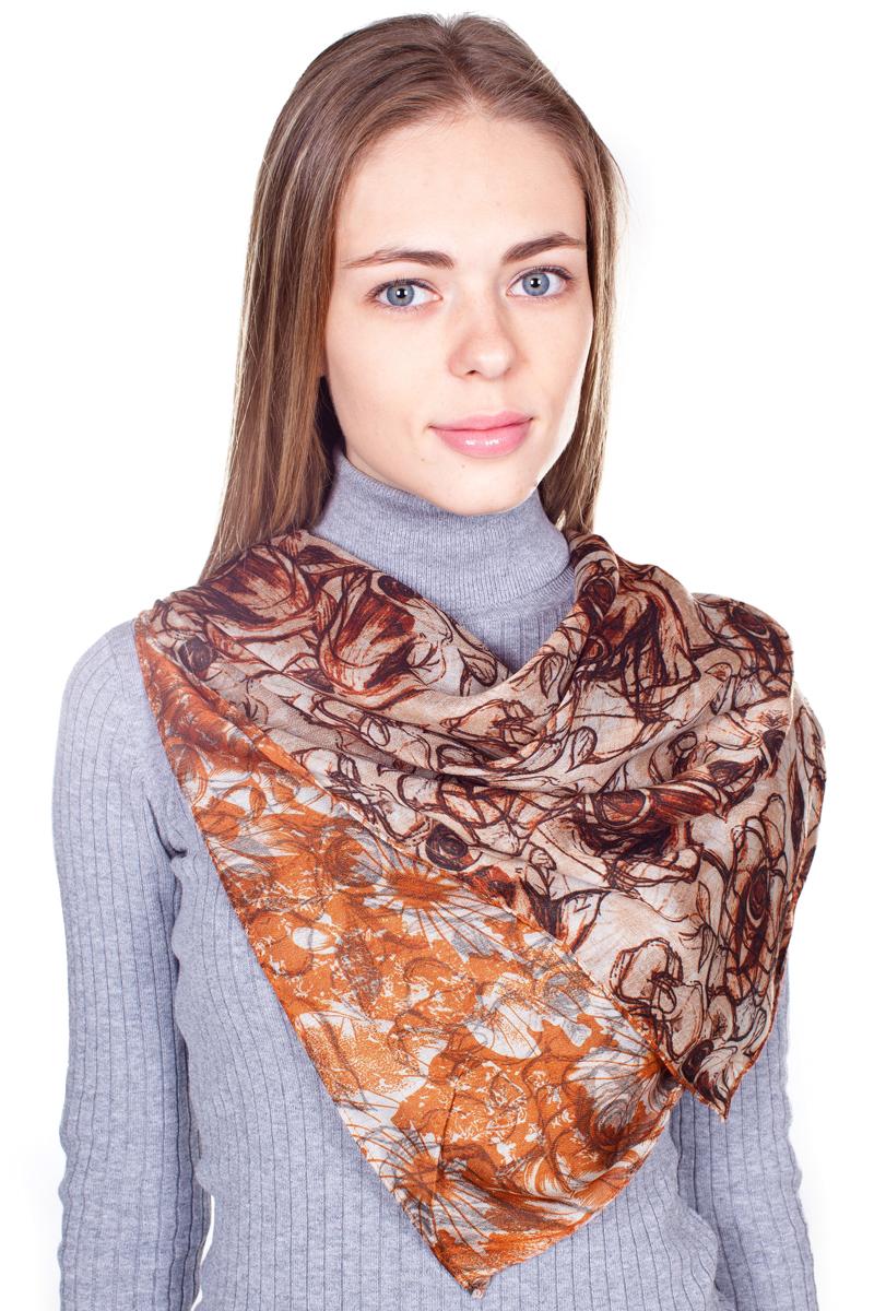 ПалантинYY-21682-33Стильный женский палантин Sophie Ramage станет великолепным завершением любого наряда. Палантин изготовлен из 100% вискозы и оформлен нежным цветочным принтом. Изящный палантин поможет вам создать изысканный женственный образ, а также согреет в непогоду.