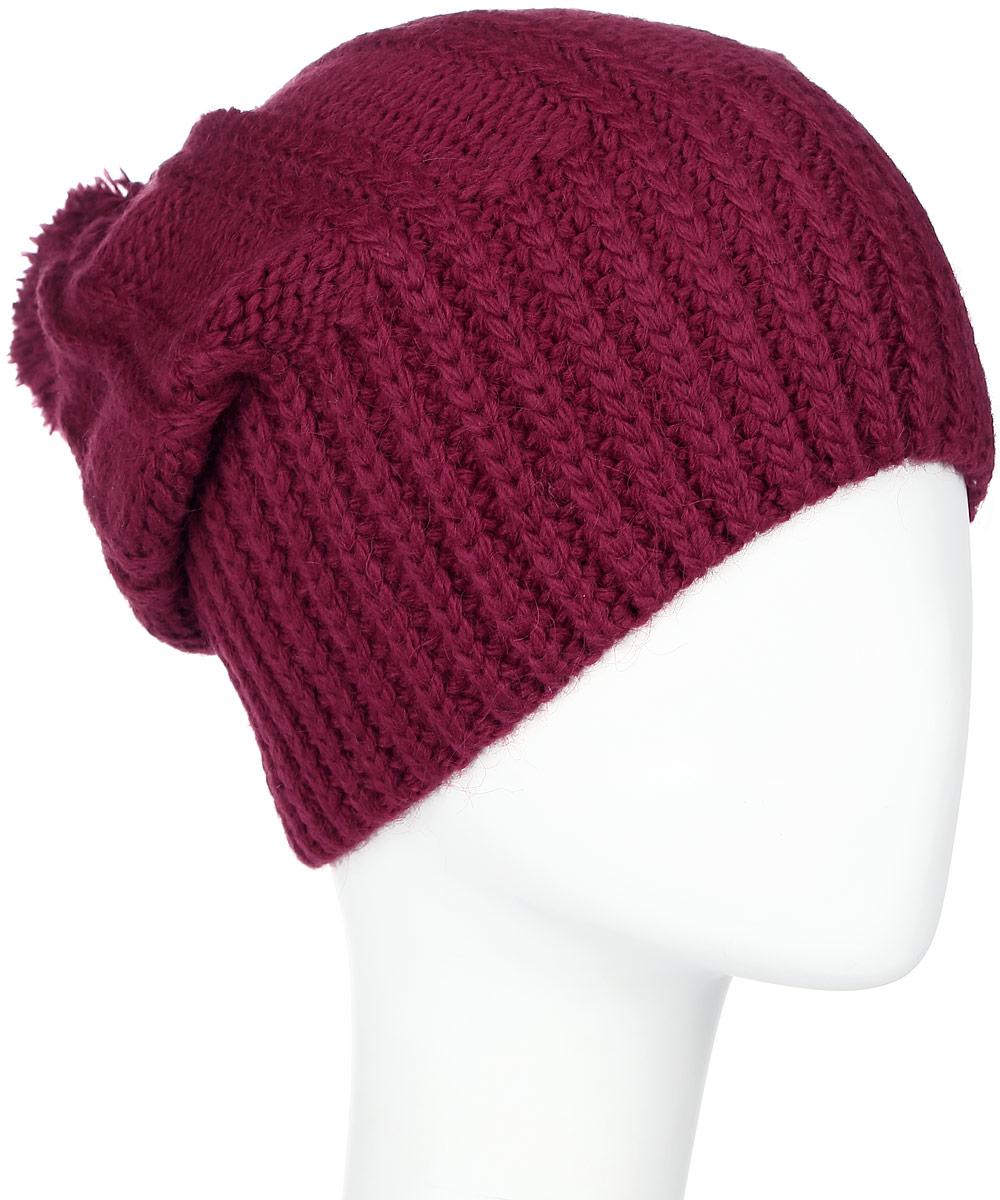 341884V-22Теплая женская шапка Vittorio Richi отлично дополнит ваш образ в холодную погоду. Сочетание шерсти и акрила сохраняет тепло и обеспечивает удобную посадку, невероятную легкость и мягкость. Удлиненная шапка выполнена крупной вязкой и дополнена на макушке пушистым помпоном. Модель составит идеальный комплект с модной верхней одеждой, в ней вам будет уютно и тепло. Уважаемые клиенты! Размер, доступный для заказа, является обхватом головы.
