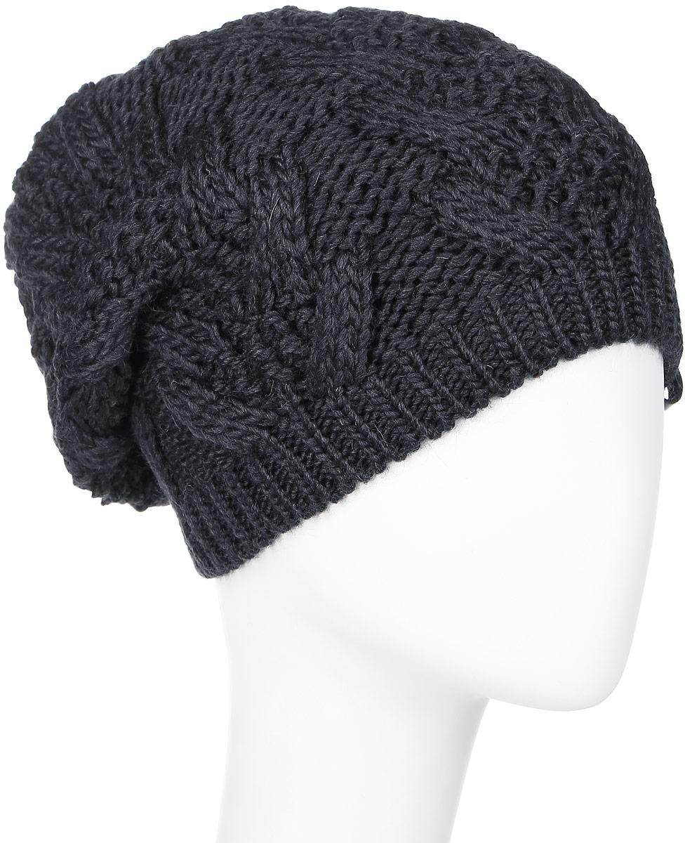 4283Теплая женская шапка Marhatter отлично дополнит ваш образ в холодную погоду. Сочетание шерсти и акрила максимально сохраняет тепло и обеспечивает удобную посадку, невероятную легкость и мягкость. Подкладка выполнена из мягкого флиса. Удлиненная шапка выполнена крупной вязкой и дополнена спереди фирменной нашивкой с логотипом бренда. Модель составит идеальный комплект с модной верхней одеждой, в ней вам будет уютно и тепло. Уважаемые клиенты! Размер, доступный для заказа, является обхватом головы.