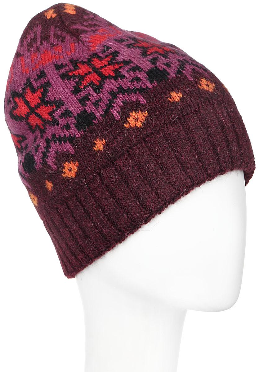 361803D-27/25Теплая женская шапка Vittorio Richi отлично дополнит ваш образ в холодную погоду. Сочетание шерсти и полиамида сохраняет тепло и обеспечивает удобную посадку, невероятную легкость и мягкость. Шапка оформлена абстрактным принтом и по низу дополнена вязанной резинкой. Модель составит идеальный комплект с модной верхней одеждой, в ней вам будет уютно и тепло. Уважаемые клиенты! Размер, доступный для заказа, является обхватом головы.