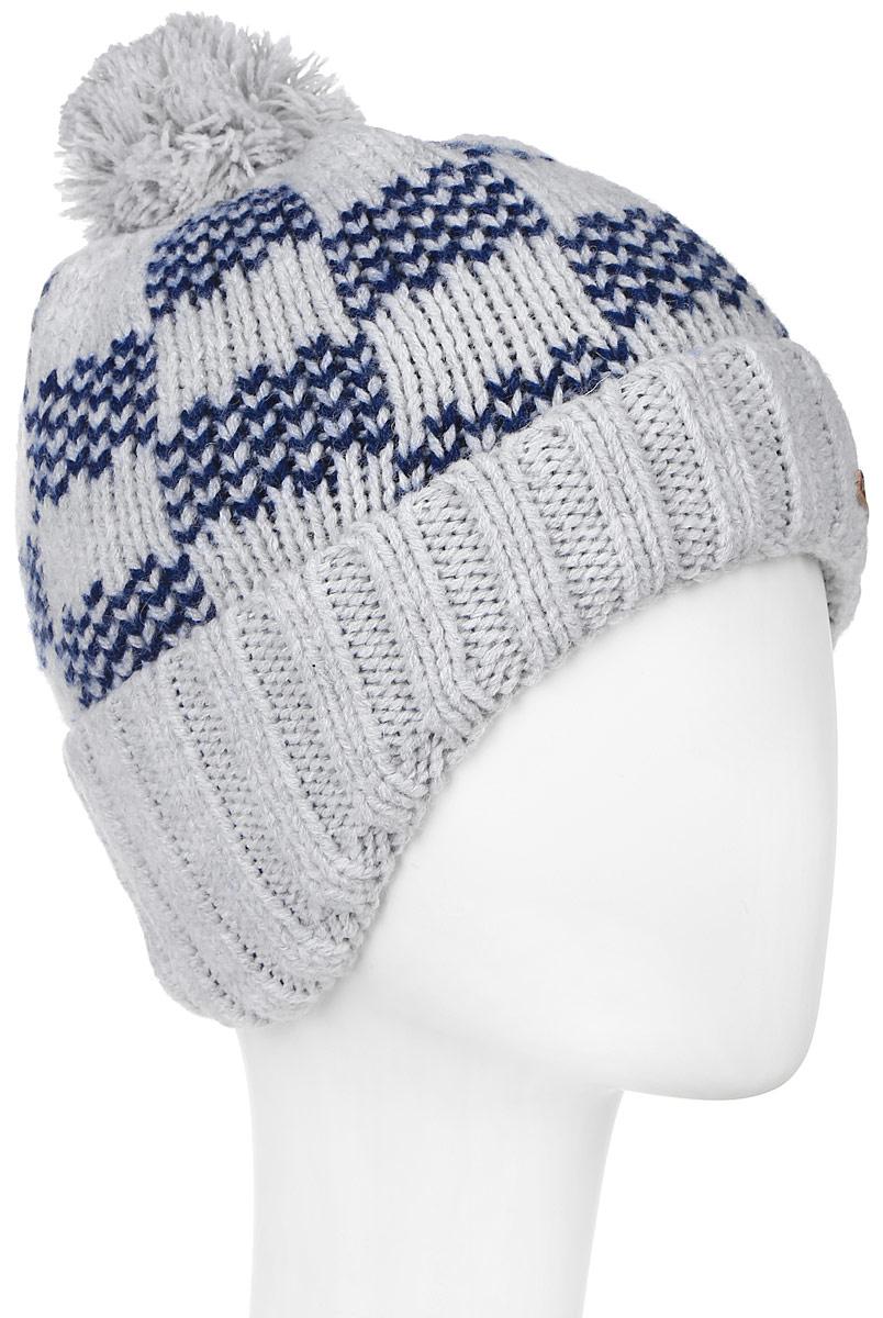 ШапкаMBU5037/2Теплая детская шапка Marhatter отлично дополнит образ вашего ребенка в холодную погоду. Сочетание шерсти и акрила максимально сохраняет тепло и обеспечивает удобную посадку. Подкладка выполнена из мягкого флиса. Шапка оформлена контрастным принтом, низ изделия выполнен резинкой. По бокам модель немного удлинена, а на макушке дополнена пушистым помпоном. Уважаемые клиенты! Размер, доступный для заказа, является обхватом головы.