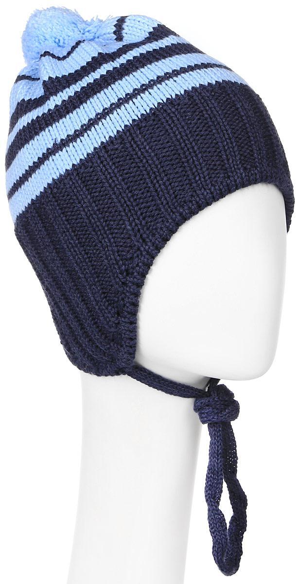 ШапкаMBU6217/2Теплая детская шапка Marhatter отлично дополнит образ вашего ребенка в холодную погоду. Сочетание шерсти и акрила максимально сохраняет тепло и обеспечивает удобную посадку. Подкладка выполнена из мягкого флиса. Шапка выполнена крупной вязкой с узорами. По бокам модель немного удлинена и имеет завязки на шнурочках, а на макушке дополнена пушистым помпоном. Уважаемые клиенты! Размер, доступный для заказа, является обхватом головы.
