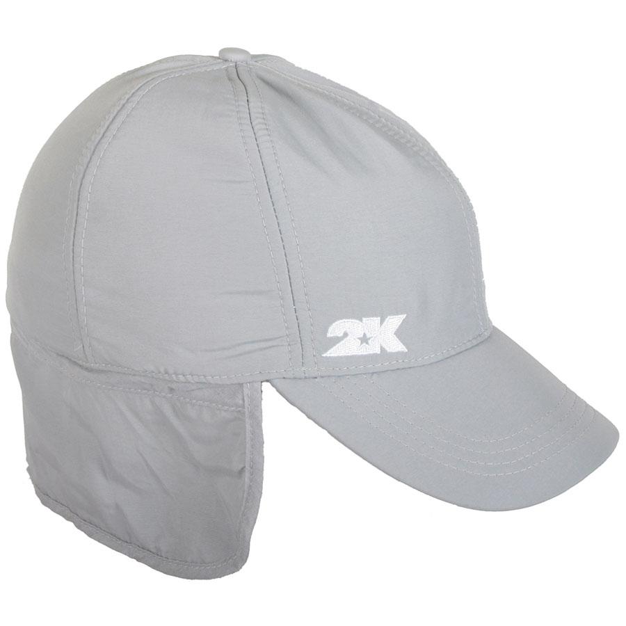Бейсболка124235_blackСтильная бейсболка 2K Sport Nordkyn выполнена из высококачественного полиэстера. Теплая флисовая подкладка согреет в холодное время года. Плотный козырек прострочен. Модель оснащена планкой, которая защищает уши и затылок от ветра. При необходимости ее можно подогнуть во внутрь. Уважаемые покупатели! Просим обратить внимание на тот факт, то данный размер изделия является обхватом головы.