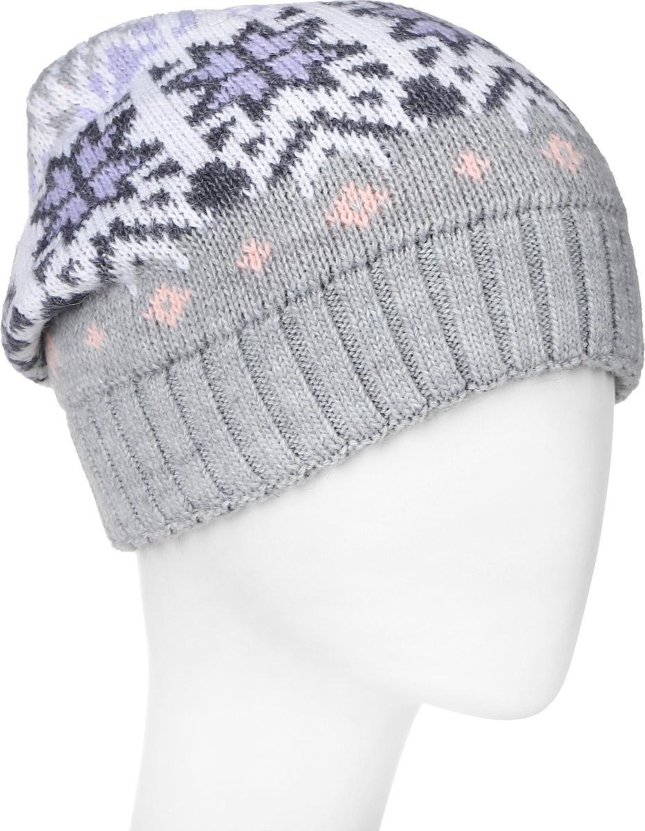 Шапка361803D-27/25Теплая женская шапка Vittorio Richi отлично дополнит ваш образ в холодную погоду. Сочетание шерсти и полиамида сохраняет тепло и обеспечивает удобную посадку, невероятную легкость и мягкость. Шапка оформлена абстрактным принтом и по низу дополнена вязанной резинкой. Модель составит идеальный комплект с модной верхней одеждой, в ней вам будет уютно и тепло. Уважаемые клиенты! Размер, доступный для заказа, является обхватом головы.