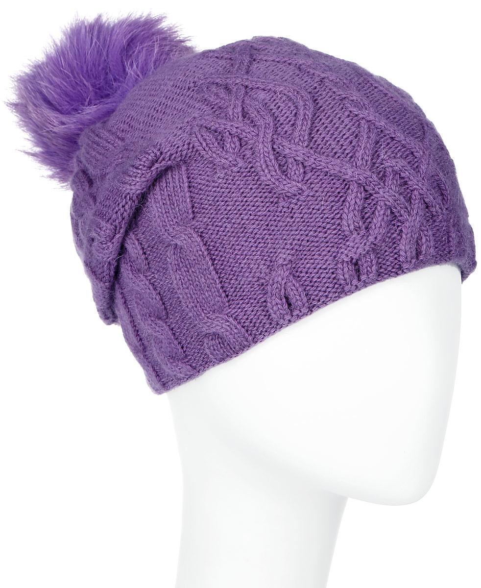 MWH5602/3-001Теплая женская шапка Marhatter отлично дополнит ваш образ в холодную погоду. Сочетание шерсти и акрила максимально сохраняет тепло и обеспечивает удобную посадку, невероятную легкость и мягкость. Подкладка выполнена из мягкого флиса. Удлиненная шапка выполнена вязкой с узорами. Макушка шапки дополнена пушистым помпоном из натурального меха песца. Модель составит идеальный комплект с модной верхней одеждой, в ней вам будет уютно и тепло. Уважаемые клиенты! Размер, доступный для заказа, является обхватом головы.
