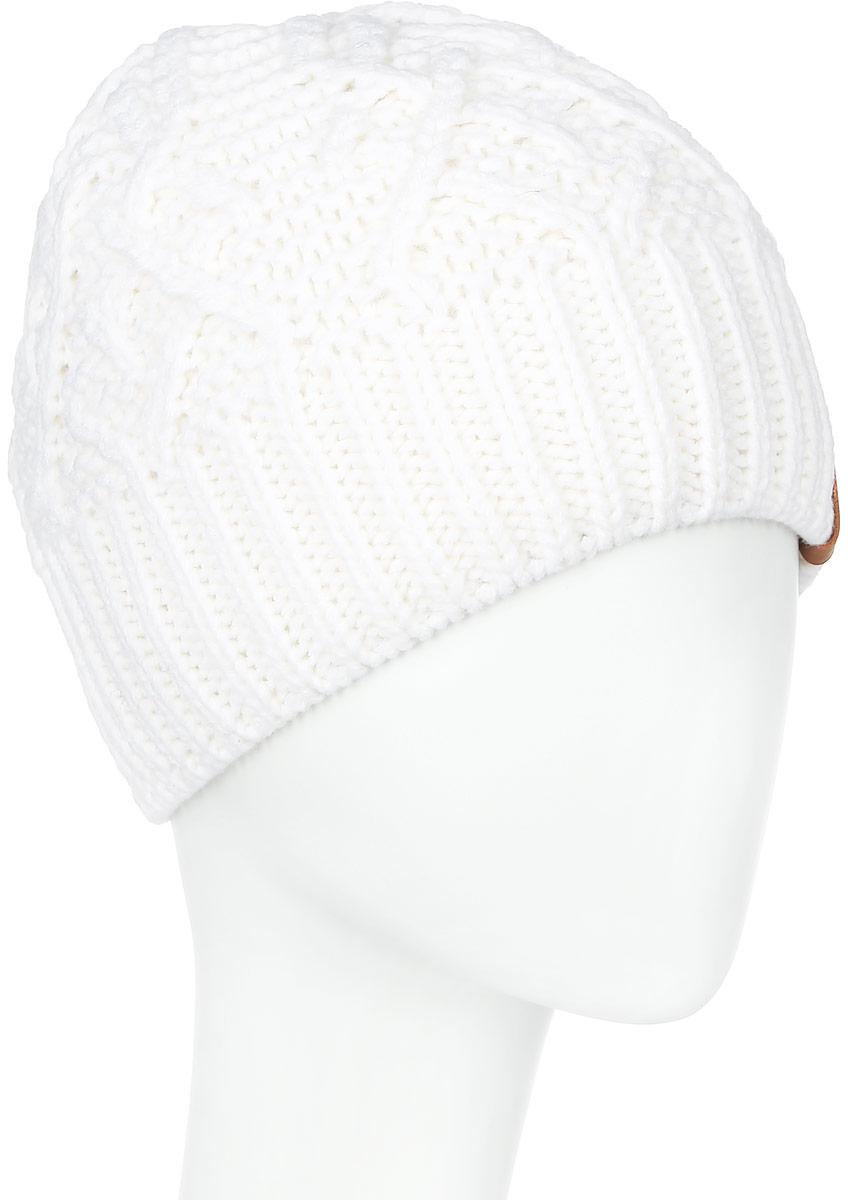 Шапка4078/2Теплая женская шапка Marhatter отлично дополнит ваш образ в холодную погоду. Сочетание шерсти и акрила максимально сохраняет тепло и обеспечивает удобную посадку, невероятную легкость и мягкость. Подкладка выполнена из мягкого флиса. Классическая шапка выполнена крупной вязкой с узорами и дополнена спереди фирменной нашивкой. Модель составит идеальный комплект с модной верхней одеждой, в ней вам будет уютно и тепло. Уважаемые клиенты! Размер, доступный для заказа, является обхватом головы.