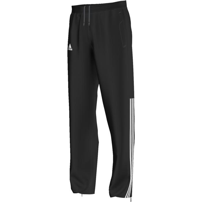 Брюки спортивныеAI0734Эти брюки прекрасно подойдут для разминки. Включают в себя эластичный пояс, боковые карманы и молнии по низу.