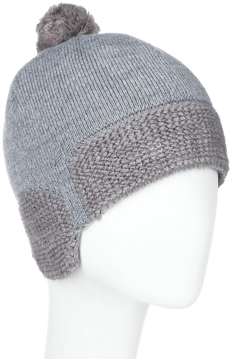 ШапкаMBU5151/2Теплая детская шапка Marhatter отлично дополнит образ вашего ребенка в холодную погоду. Сочетание шерсти и акрила максимально сохраняет тепло и обеспечивает удобную посадку. Подкладка выполнена из мягкого флиса. Шапка оформлена в однотонном лаконичном стиле, низ изделия выполнен петельной вязкой. По бокам модель немного удлинена, а на макушке дополнена пушистым помпоном. Уважаемые клиенты! Размер, доступный для заказа, является обхватом головы.