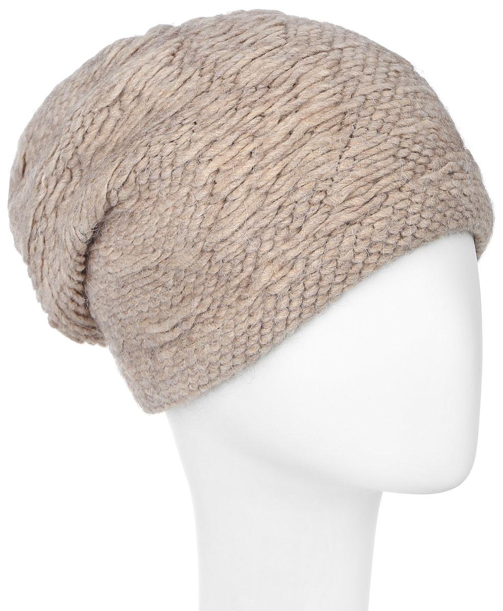Шапка341880I-52Элегантная женская шапка Vittorio Richi отлично дополнит ваш образ в холодную погоду. Сочетание шерсти, полиамида и ангоры сохраняет тепло и обеспечивает удобную посадку, невероятную легкость и мягкость. Удлиненная шапка по низу выполнена объемной вязкой. Оформлена модель в однотонном лаконичном стиле. Модель составит идеальный комплект с модной верхней одеждой, в ней вам будет уютно и тепло. Уважаемые клиенты! Размер, доступный для заказа, является обхватом головы.