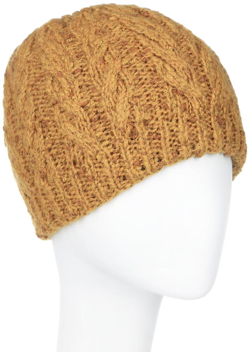 ШапкаSWH5012/3Теплая женская шапка Snezhna отлично дополнит ваш образ в холодную погоду. Сочетание шерсти, мохера и полиамида максимально сохраняет тепло и обеспечивает удобную посадку, невероятную легкость и мягкость. Классическая шапка выполнена крупной вязкой с узорами и дополнена спереди фирменной металлической пластиной с изображением розочки. Модель составит идеальный комплект с модной верхней одеждой, в ней вам будет уютно и тепло. Уважаемые клиенты! Размер, доступный для заказа, является обхватом головы.