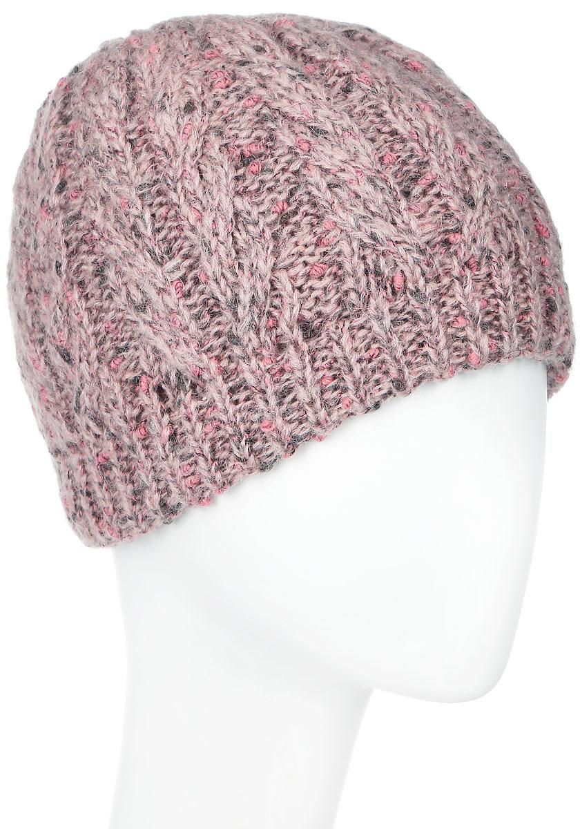 SWH5012/3Теплая женская шапка Snezhna отлично дополнит ваш образ в холодную погоду. Сочетание шерсти, мохера и полиамида максимально сохраняет тепло и обеспечивает удобную посадку, невероятную легкость и мягкость. Классическая шапка выполнена крупной вязкой с узорами и дополнена спереди фирменной металлической пластиной с изображением розочки. Модель составит идеальный комплект с модной верхней одеждой, в ней вам будет уютно и тепло. Уважаемые клиенты! Размер, доступный для заказа, является обхватом головы.