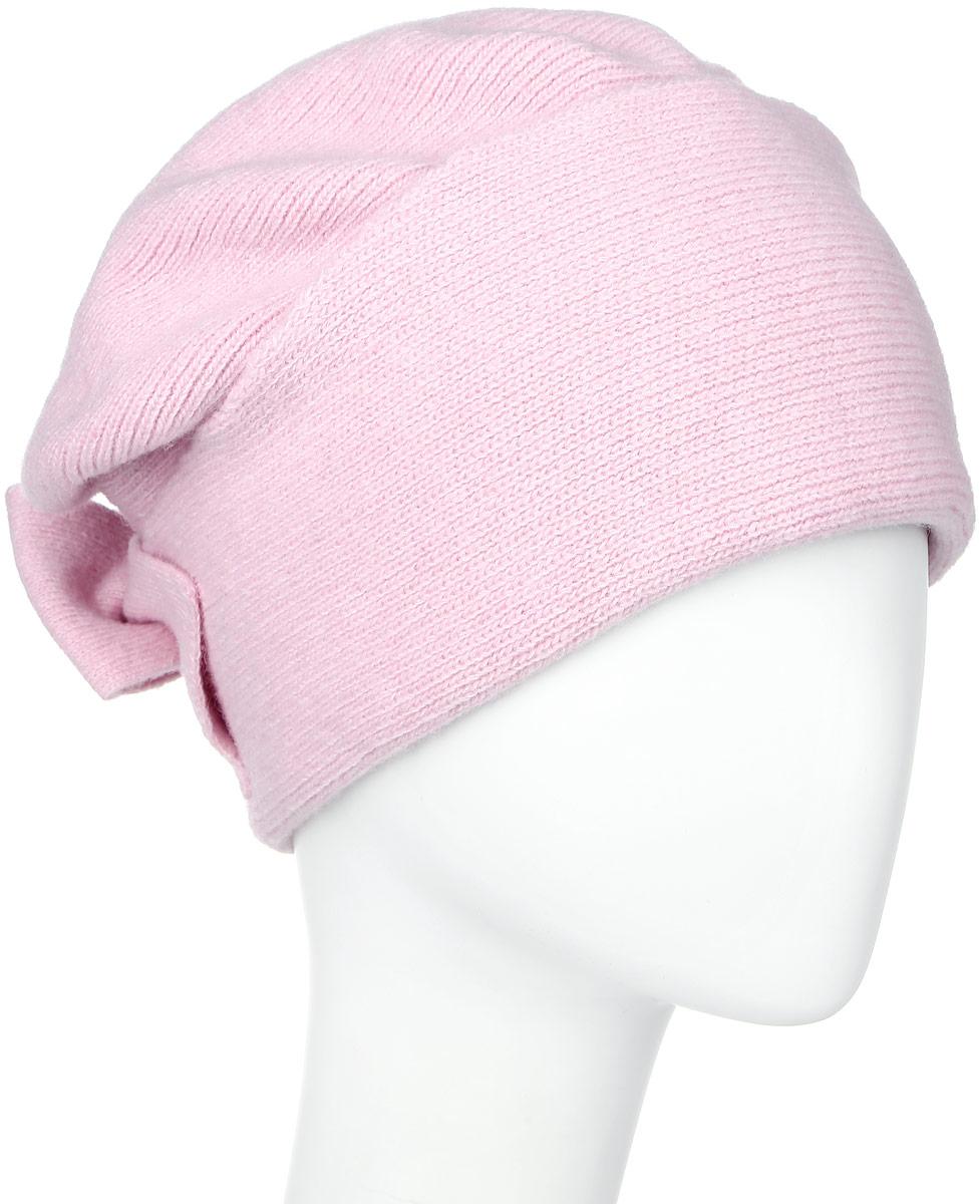 Шапка341925N-47Теплая женская шапка Vittorio Richi отлично дополнит ваш образ в холодную погоду. Сочетание шерсти и акрила сохраняет тепло и обеспечивает удобную посадку, невероятную легкость и мягкость. Шапка оформлена отворотом, а на затылке декоративным бантом. Модель составит идеальный комплект с модной верхней одеждой, в ней вам будет уютно и тепло. Уважаемые клиенты! Размер, доступный для заказа, является обхватом головы.