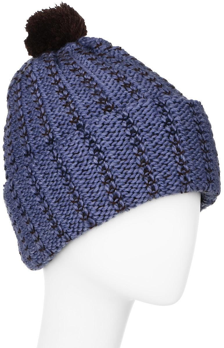 ШапкаMYH6969/3Теплая мужская шапка Marhatter отлично дополнит ваш образ в холодную погоду. Сочетание шерсти и акрила максимально сохраняет тепло и обеспечивает удобную посадку, невероятную легкость и мягкость. Шапка двойная с отворотом, который можно регулировать по ширине. Модель выполнена контрастными нитями, а на макушке оформлена небольшим пушистым помпоном. Незаменимая вещь на прохладную погоду. Модель составит идеальный комплект с модной верхней одеждой, в ней вам будет уютно и тепло. Уважаемые клиенты! Размер, доступный для заказа, является обхватом головы.