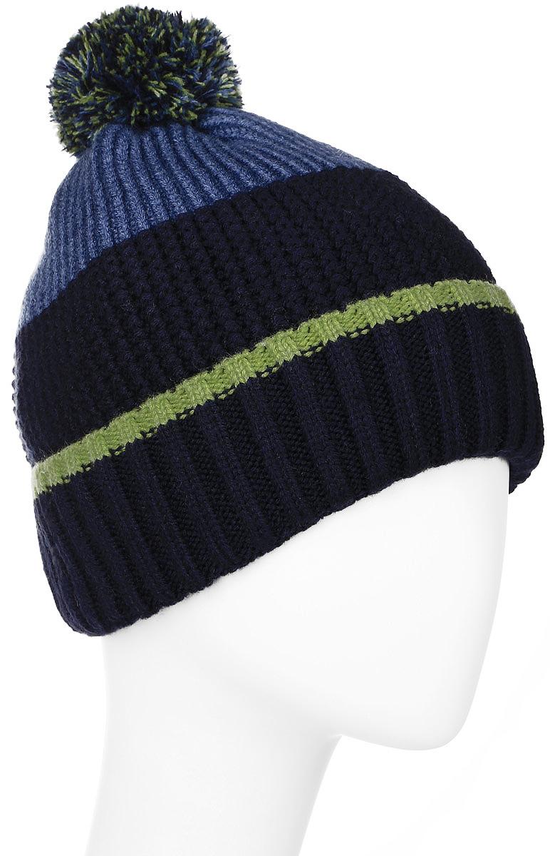 MYH6057/2Стильная мужская шапка Marhatter отлично дополнит ваш образ в холодную погоду. Сочетание шерсти и акрила максимально сохраняет тепло и обеспечивает удобную посадку. Шапка оформлена оригинальной вязкой и на макушке украшена помпоном. Модель дополнена мягкой флисовой подкладкой. Спереди шапка украшена эмблемой с логотипом производителя. Такая модель комфортна и приятна на ощупь, она великолепно подчеркнет ваш вкус. Уважаемые клиенты! Размер, доступный для заказа, является обхватом головы.