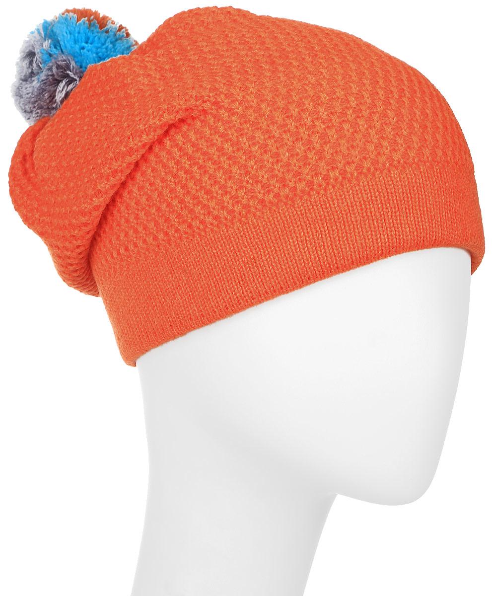 MYH6141/6Теплая мужская шапка Marhatter отлично дополнит ваш образ в холодную погоду. Сочетание шерсти и акрила максимально сохраняет тепло и обеспечивает удобную посадку. Подкладка выполнена из высококачественного полиэстера. Удлиненная шапка оформлена оригинальной вязкой и дополнена на макушке небольшим помпоном. Уважаемые клиенты! Размер, доступный для заказа, является обхватом головы.