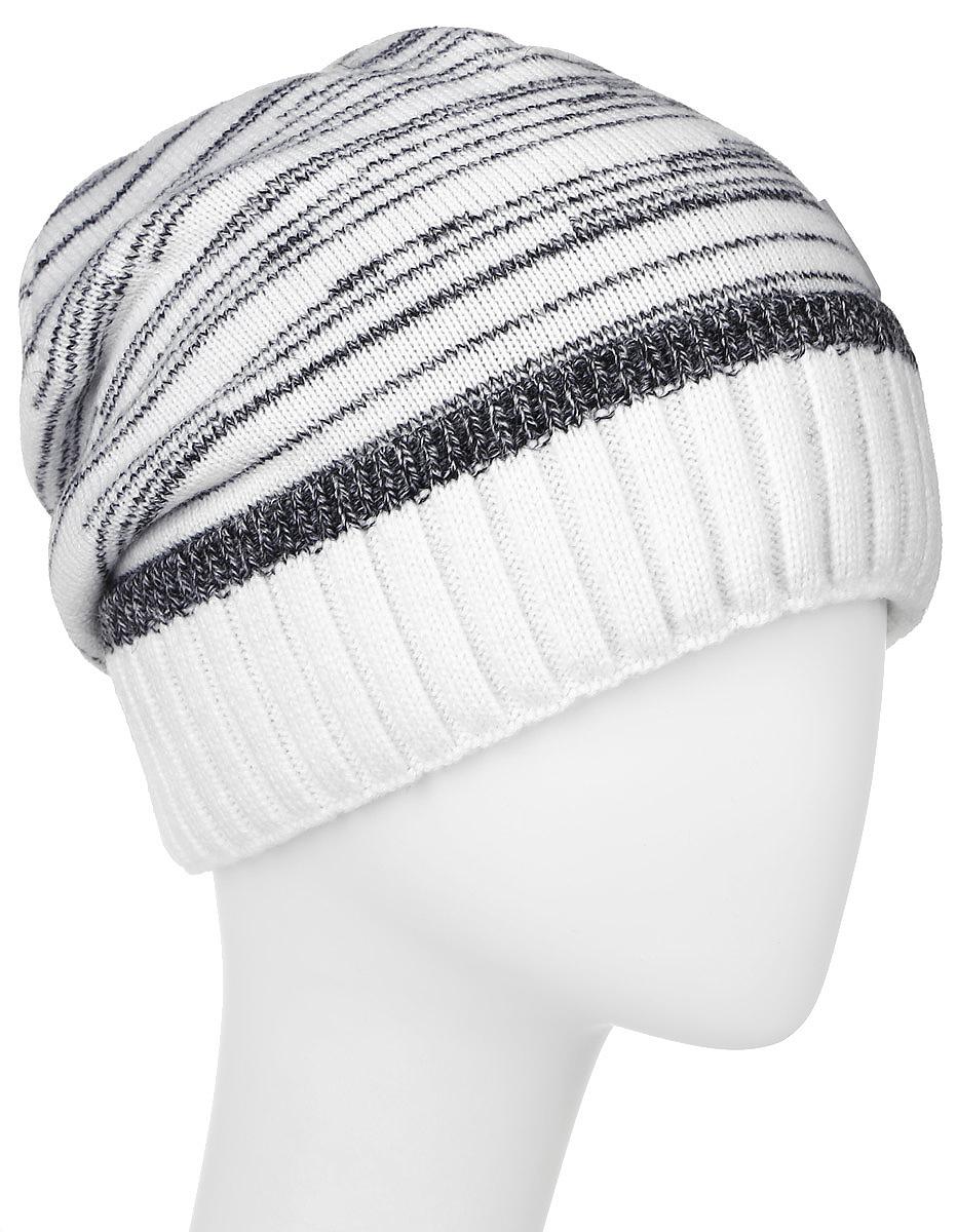 MYH6923/1Теплая мужская шапка Marhatter отлично дополнит ваш образ в холодную погоду. Сочетание шерсти и акрила максимально сохраняет тепло и обеспечивает удобную посадку. Подкладка выполнена из мягкого флиса. Шапка с отворотом оформлена контрастным принтом и дополнена фирменной нашивкой с логотипом бренда. Уважаемые клиенты! Размер, доступный для заказа, является обхватом головы.
