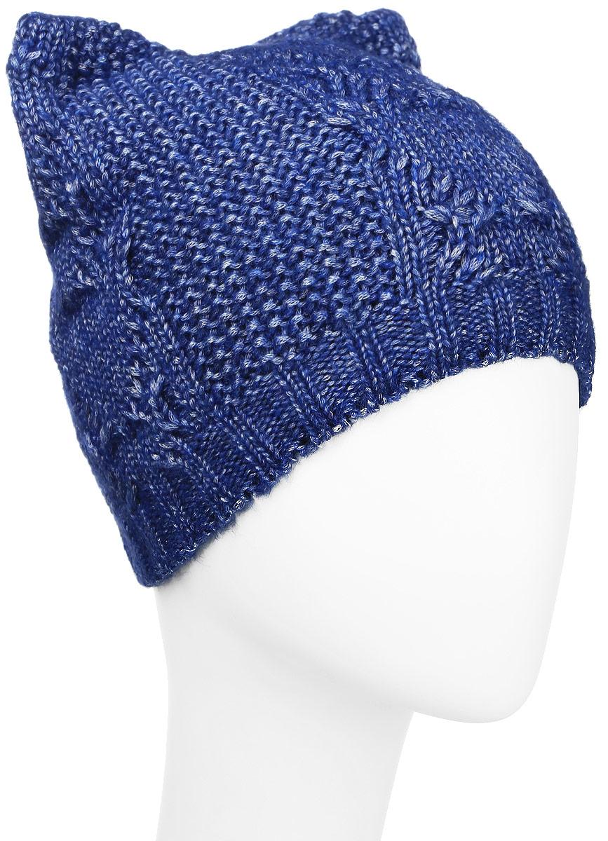 MFH7162/2Детская вязанная шапочка Marhatter станет отличным дополнением к детскому гардеробу. Верх изделия изготовлен из теплой шерсти и акрила, а подкладка из качественного полиэстера, что обеспечивает тепло и комфорт. Благодаря эластичной вязке, шапка идеально прилегает к голове ребенка. Шапка двойная оформлена крупной вязкой с узорами и вязанной резинкой по низу. Макушка изделия дополнена двумя ушками. Незаменимая вещь на прохладную погоду. Модель составит идеальный комплект с модной верхней одеждой, в ней вам будет уютно и тепло. Уважаемые клиенты! Размер, доступный для заказа, является обхватом головы.