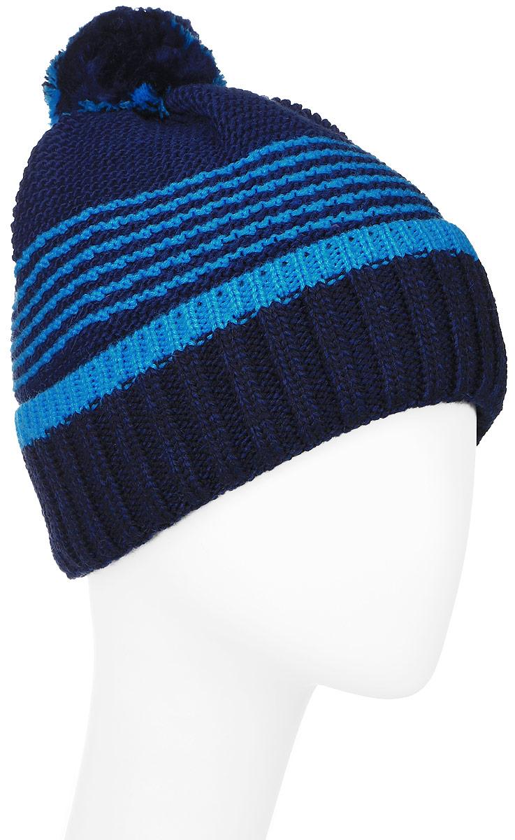 ШапкаMYH6876/2Теплая мужская шапка Marhatter отлично дополнит ваш образ в холодную погоду. Сочетание шерсти и акрила максимально сохраняет тепло и обеспечивает удобную посадку, невероятную легкость и мягкость. Подкладка выполнена из мягкого флиса. Шапка двойная с отворотом, связанным резинкой, оформлена контрастным принтом. Макушка изделия дополнена небольшим пушистым помпоном. Незаменимая вещь на прохладную погоду. Модель составит идеальный комплект с модной верхней одеждой, в ней вам будет уютно и тепло. Уважаемые клиенты! Размер, доступный для заказа, является обхватом головы.