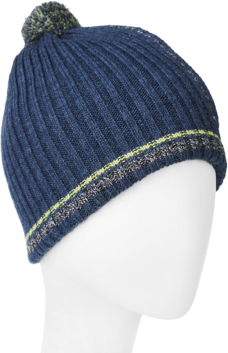 ШапкаMBH5804/2Теплая детская шапка Marhatter отлично дополнит образ вашего ребенка в холодную погоду. Сочетание шерсти и акрила максимально сохраняет тепло и обеспечивает удобную посадку. Подкладка выполнена из мягкого флиса. Шапка оформлена контрастным принтом и на макушке дополнена пушистым помпоном. Уважаемые клиенты! Размер, доступный для заказа, является обхватом головы.