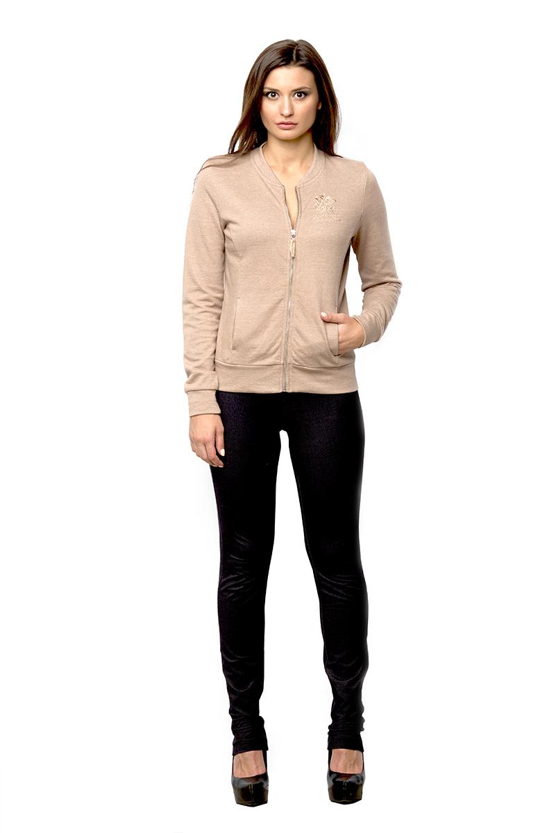 AW16-BGUZ-722Женские брюки BeGood выполнены из хлопка с добавлением полиэстера и эластана. Брюки зауженного к низу кроя по поясу дополнены эластичной резинкой. Модель оформлена имитациями втачных карманов.