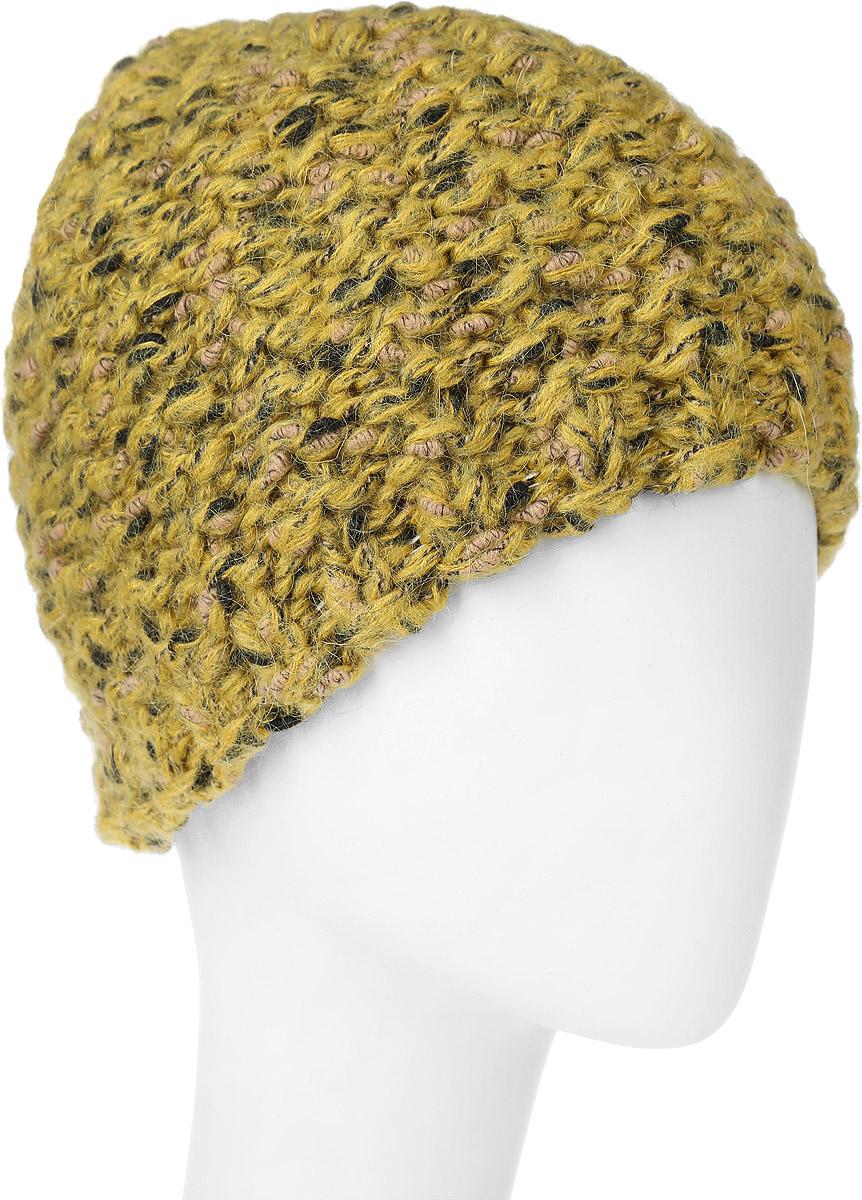 ШапкаSWH4967/2Вязаная женская шапка Snezhna изготовленная из шерсти, мохера и полиамида, она мягкая и приятная на ощупь, обладает хорошими дышащими свойствами и максимально удерживает тепло. Шапочка плотно облегает голову, что обеспечивает надежную защиту от ветра и мороза. Модель оформлена вязаным узором. Дополнено изделие небольшой металлической пластиной с названием бренда. Уважаемые клиенты! Размер, доступный для заказа, является обхватом головы.