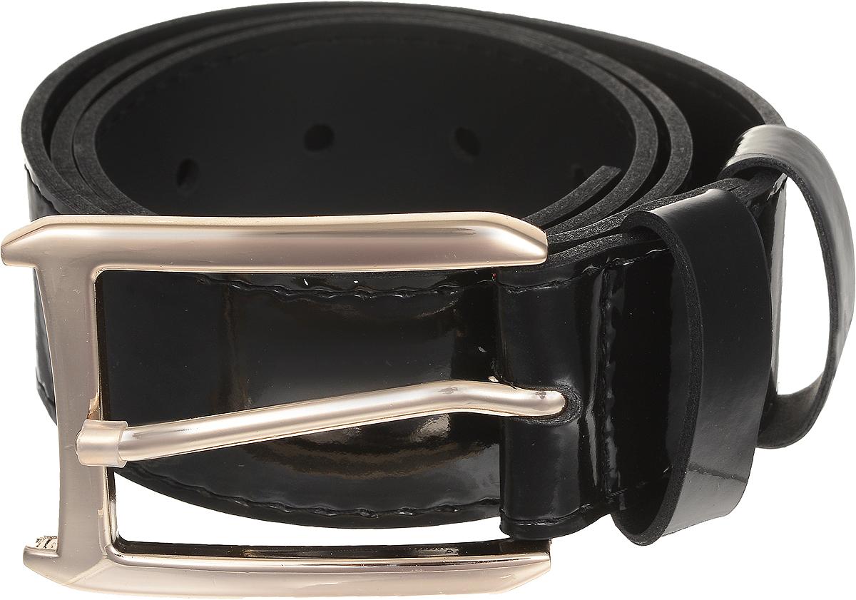 Ремень4413-13/40zСтильный широкий ремень Vittorio Richi выполнен из высококачественной лаковой экокожи. Пряжка, выполненная из металла, позволит легко и быстро зафиксировать ремень и отрегулировать его длину. Уважаемые клиенты! Обращаем ваше внимание на тот факт, что размер ремня, доступный для заказа, является его длиной.