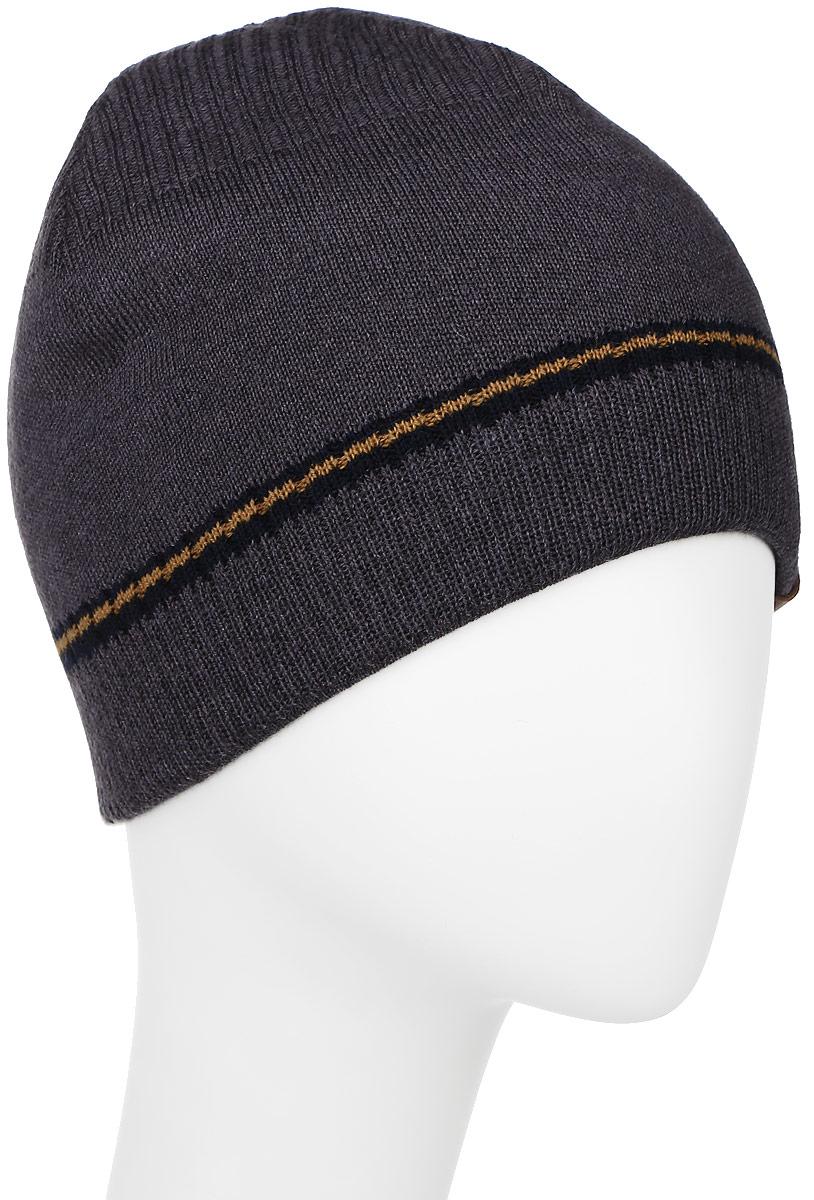 ШапкаMMH4745/3Теплая мужская шапка Marhatter отлично дополнит ваш образ в холодную погоду. Сочетание шерсти и акрила максимально сохраняет тепло и обеспечивает удобную посадку. Подкладка выполнена из мягкого флиса. Классическая шапка выполнена в лаконичном стиле и дополнена фирменной нашивкой. Уважаемые клиенты! Размер, доступный для заказа, является обхватом головы.