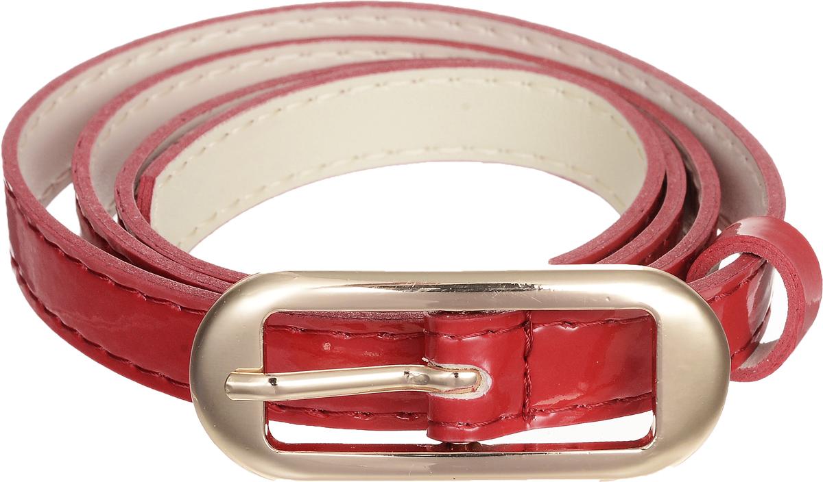 4409-21/15zЭлегантный тонкий ремень Vittorio Richi выполнен из высококачественной лакированной экокожи. Пряжка, выполненная из металла, позволит легко и быстро зафиксировать ремень и отрегулировать его длину. Уважаемые клиенты! Обращаем ваше внимание на тот факт, что размер ремня, доступный для заказа, является его длиной.