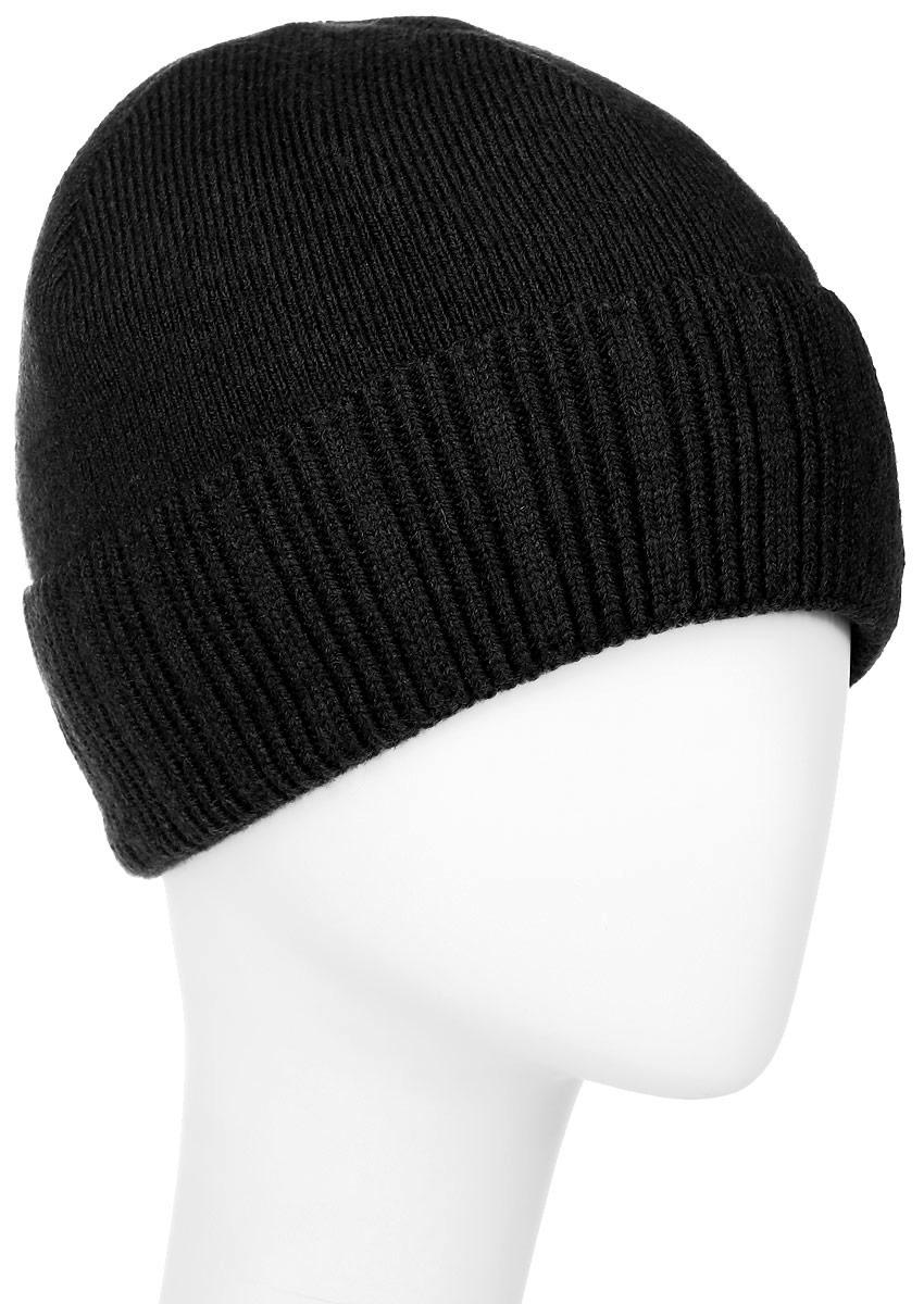 MMH5825/2Теплая мужская шапка Marhatter отлично дополнит ваш образ в холодную погоду. Сочетание шерсти и акрила максимально сохраняет тепло и обеспечивает удобную посадку, невероятную легкость и мягкость. Подкладка выполнена из мягкого флиса. Шапка двойная с отворотом, связанным резинкой, выполнена в лаконичном однотонном стиле. Спереди модель дополнена маленькой пластиной с названием бренда. Незаменимая вещь на прохладную погоду. Модель составит идеальный комплект с модной верхней одеждой, в ней вам будет уютно и тепло. Уважаемые клиенты! Размер, доступный для заказа, является обхватом головы.