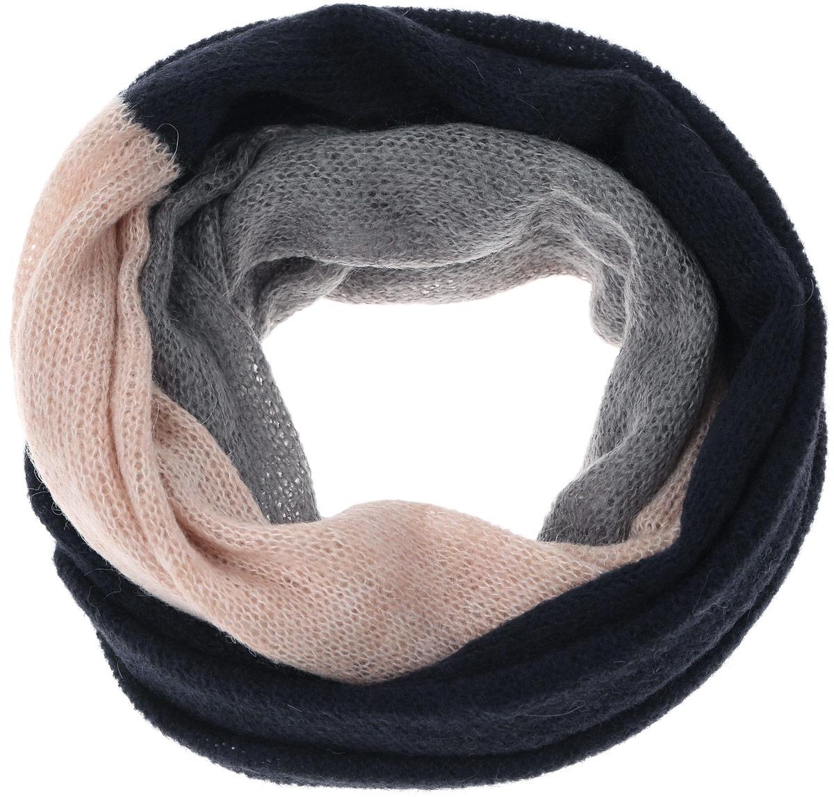 ШарфW0S12UGRJЖенский шарф Wrangler выполнен из сочетания акрила, полиамида, мохера и шерсти . Модель оформлена мелкой вязкой контрастных цветов.