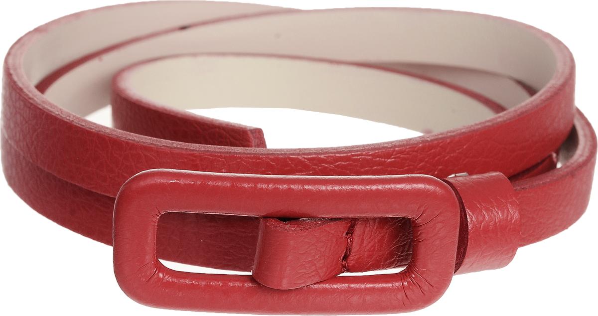 Ремень2203-1/10Элегантный тонкий ремень Vittorio Richi выполнен из высококачественной экокожи зернистой текстуры. Металлическая пряжка, оформленная накладкой из экокожи, позволит легко и быстро зафиксировать ремень и отрегулировать его длину. Уважаемые клиенты! Обращаем ваше внимание на тот факт, что размер ремня, доступный для заказа, является его длиной.