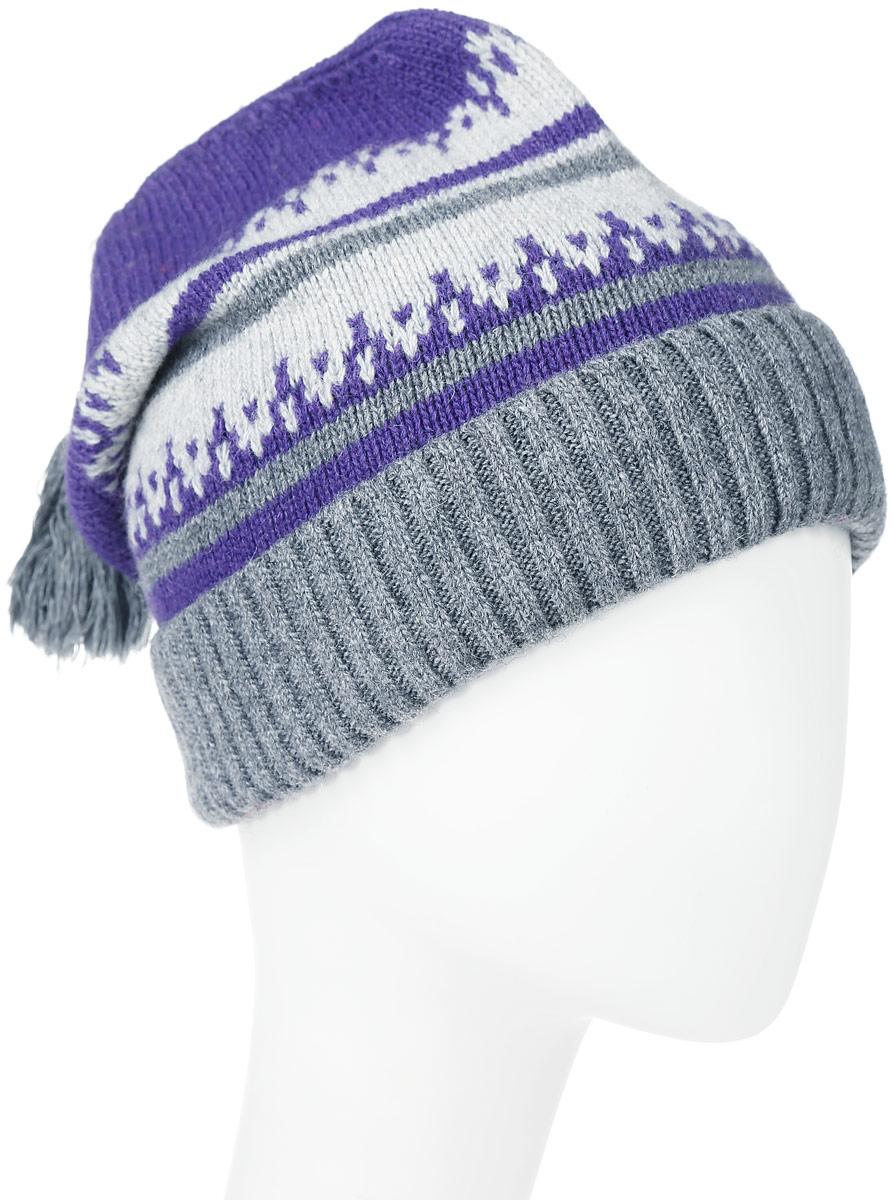 Шапка341663N-33/56Женская шапка Vittorio Richi выполнена из шерсти и полиамида. Модель оформлена мелкой узорной вязкой. Изделие дополнено кисточкой, по низу - подворотом. Уважаемые клиенты! Размер, доступный для заказа, является обхватом головы.
