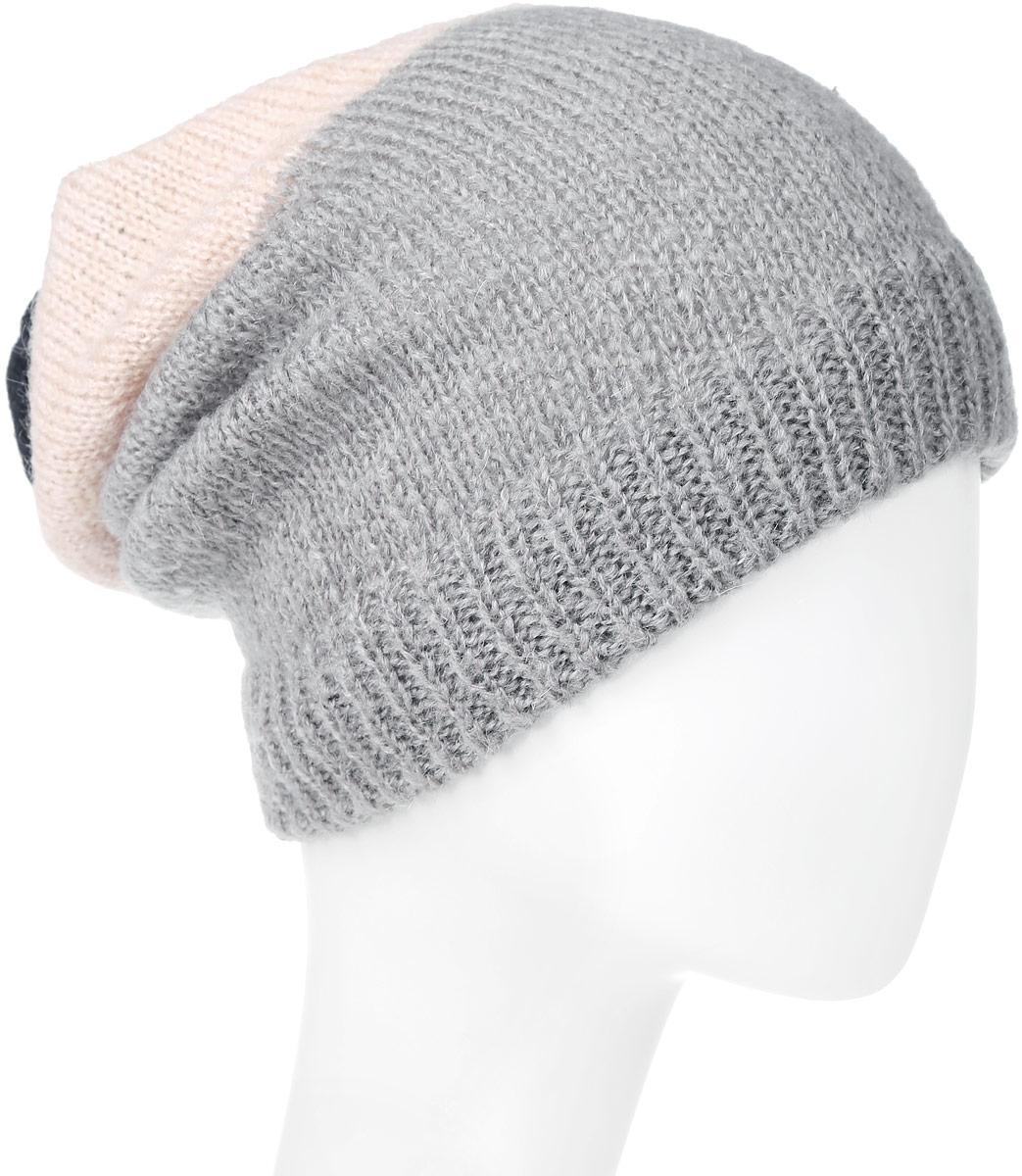 ШапкаW0M11UGRJЖенская шапка Wrangler выполнена из сочетания акрила, полиамида, мохера и шерсти. Модель оформлена мелкой вязкой контрастных цветов. По низу изделие дополнено вязаной резинкой. Уважаемые клиенты! Размер, доступный для заказа, является обхватом головы.
