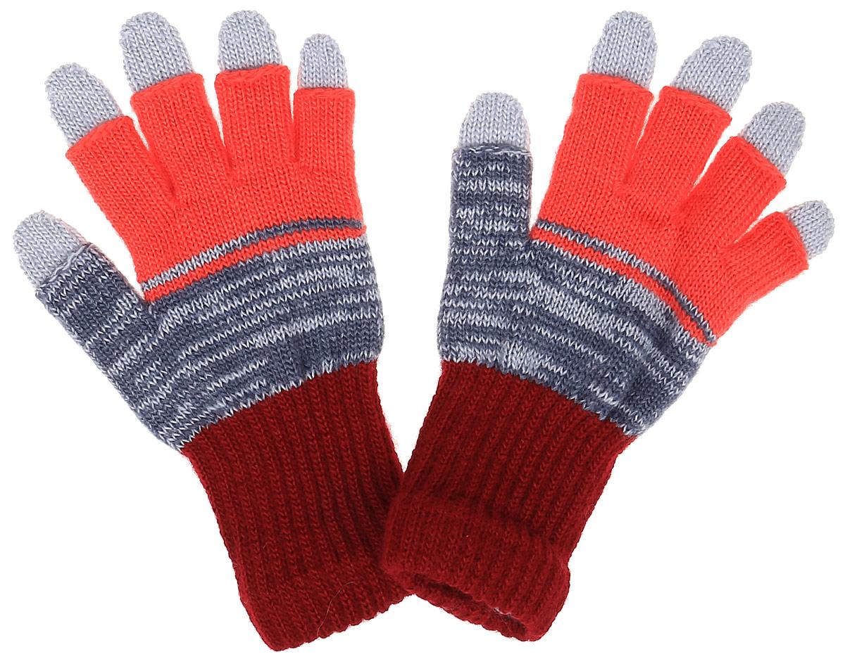 EMAGINE-22Вязаные перчатки для девочки Margot Bis Emagine с открытыми пальцами выполнены из мягкого и приятного акрила и имеют съемные перчатки-подкладку. Изделие дополнено широкими эластичными манжетами, не стягивающими запястья и надежно фиксирующими их на ручках ребенка. Манжеты связаны резинкой. Современный дизайн и расцветка делают эти перчатки модным и стильным предметом детского гардероба.
