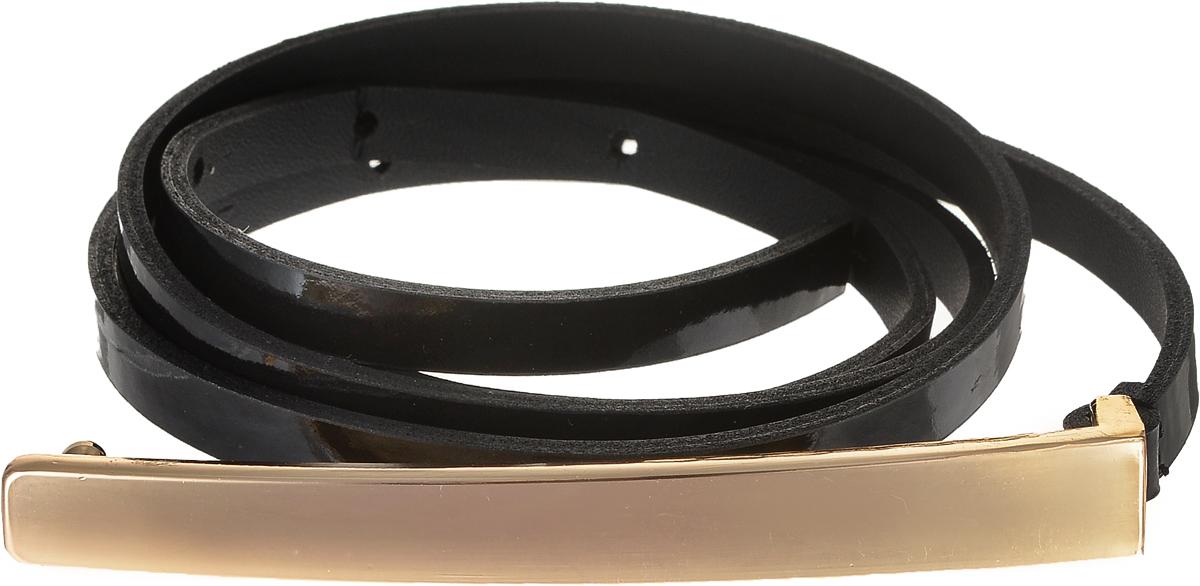 4413-24/10zЭлегантный тонкий ремень Vittorio Richi выполнен из высококачественной лаковой экокожи. Пряжка, выполненная из металла, позволит легко и быстро зафиксировать ремень и отрегулировать его длину. Уважаемые клиенты! Обращаем ваше внимание на тот факт, что размер ремня, доступный для заказа, является его длиной.