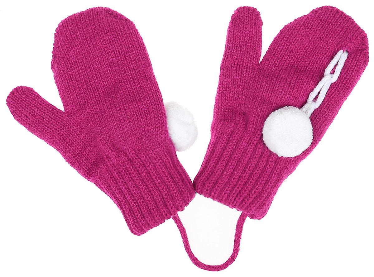 ITAKA-22Детские варежки Margot Bis Itaka, выполненные из высококачественного акрила с добавлением теплой шерсти, согреют руки в прохладное время года. Варежки дополнены широкими трикотажными манжетами, не стягивающими запястья и надежно фиксирующими варежки на руках ребенка. А также чтобы варежки не потерялись, изделие дополнено текстильным шнурком. Модель оформлена небольшим помпоном.
