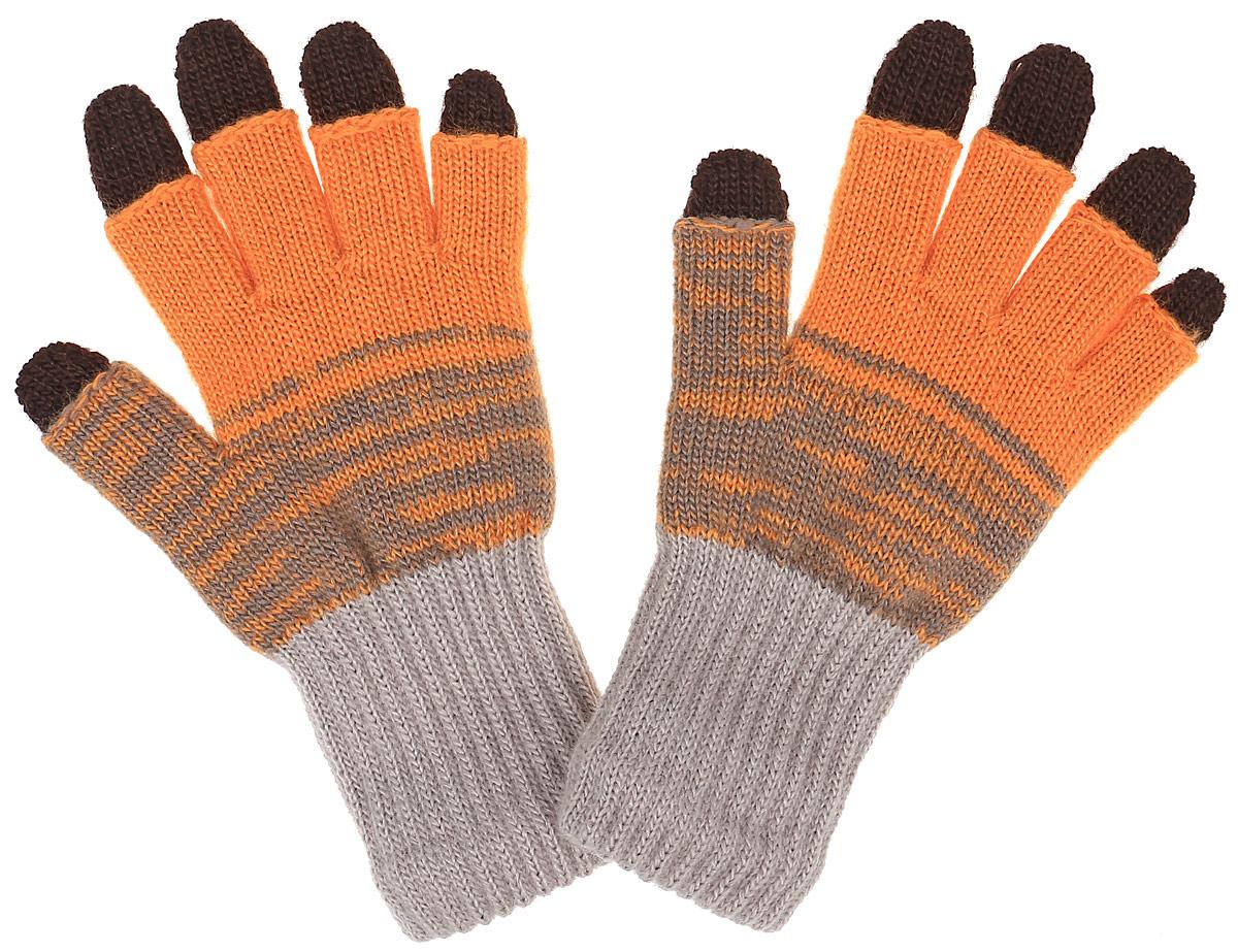 Перчатки детскиеEMAGINE-22Вязаные перчатки для девочки Margot Bis Emagine с открытыми пальцами выполнены из мягкого и приятного акрила и имеют съемные перчатки-подкладку. Изделие дополнено широкими эластичными манжетами, не стягивающими запястья и надежно фиксирующими их на ручках ребенка. Манжеты связаны резинкой. Современный дизайн и расцветка делают эти перчатки модным и стильным предметом детского гардероба.