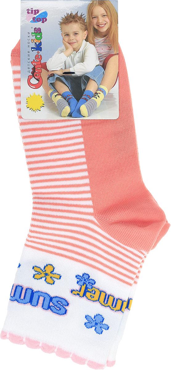 НоскиTIPTOP03704Удобные носочки Conte-Kids Tip-Top изготовлены из хлопка с добавлением полиамида и эластана. Ткань очень мягкая и тактильно приятная, позволяет коже дышать. Эластичная резинка мягко облегает ножку ребенка. Модель оформлена интересным принтом в полоску. Такие носочки подарят вашему ребенку тепло и комфорт!