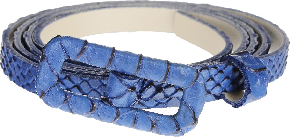Ремень2210B1338-12-5-1/10Элегантный тонкий ремень Vittorio Richi выполнен из высококачественной экокожи с тиснением под рептилию. Металлическая пряжка, оформленная накладкой из экокожи, позволит легко и быстро зафиксировать ремень и отрегулировать его длину. Уважаемые клиенты! Обращаем ваше внимание на тот факт, что размер ремня, доступный для заказа, является его длиной.