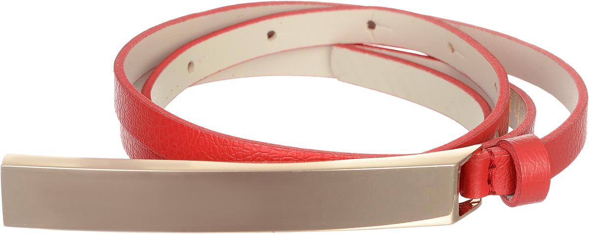 Ремень4403-24/10zЭлегантный тонкий ремень Vittorio Richi выполнен из высококачественной экокожи зернистой текстуры. Пряжка, выполненная из металла, позволит легко и быстро зафиксировать ремень и отрегулировать его длину. Уважаемые клиенты! Обращаем ваше внимание на тот факт, что размер ремня, доступный для заказа, является его длиной.