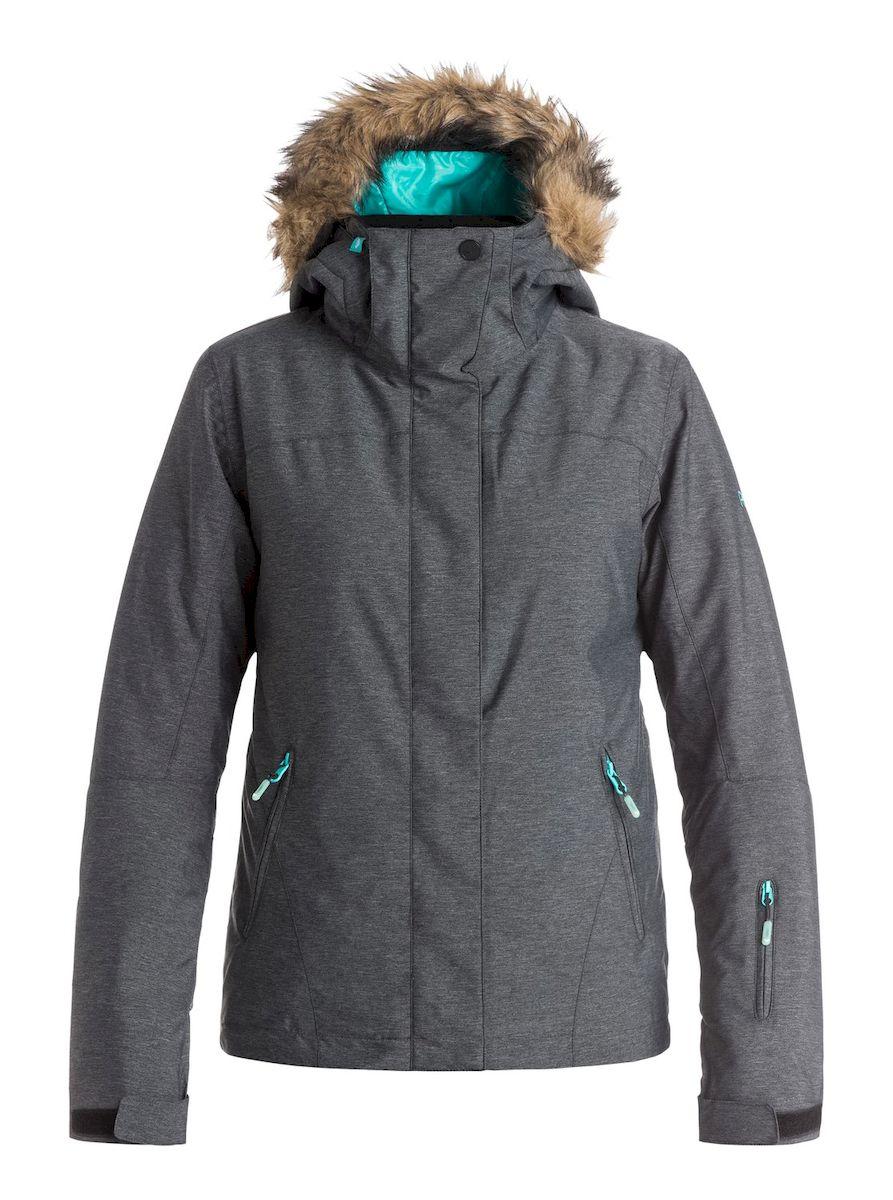 КурткаERJTJ03057-KVJ0Женская куртка для сноуборда выполнена из полиэстера с утеплителем Warmflight (тело 120 г, рукава 100 г, капюшон 60 г). Подкладка из тафты со вставками из трикотажа с начесом. Критические швы проклеены. Съемный капюшон регулируется тремя способами, оформлен оторочкой из искусственного меха. Фиксированная противоснежная юбка из тафты с удобными кнопками. Система пристегивания куртки к штанам. Подкладка в районе подбородка. Куртка дополнена нагрудным карманом, внутренним медиакарманом, внутренним карманом для маски, брелоком для ключей. Лайкровые гейтеры в рукавах. Кармашек для скипасса на рукаве. Сеточная вентиляция подмышками. Карманы с теплой подкладкой.