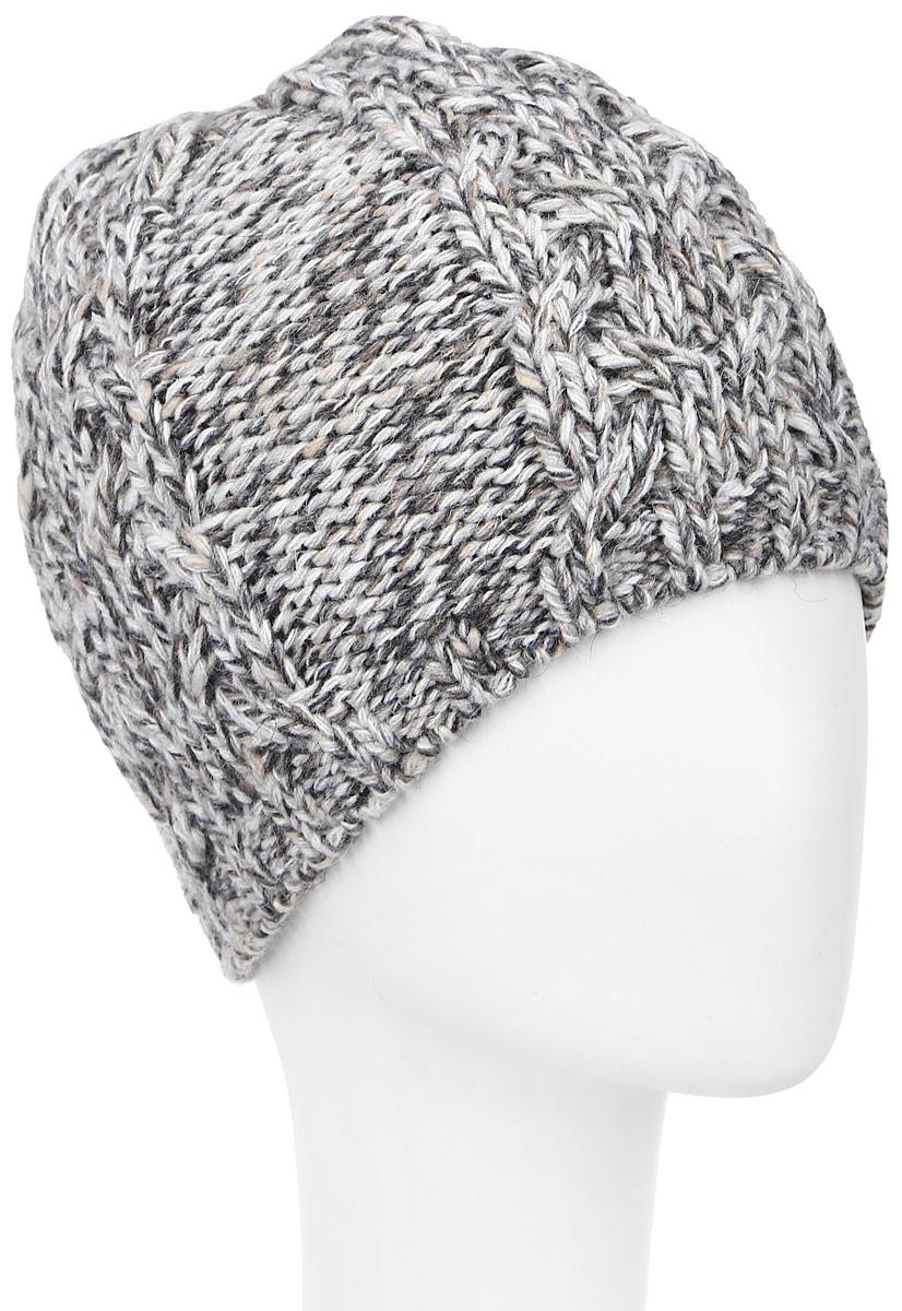 ШапкаMLH6833/2Женская шапка Marhatter выполнена из сочетания альпаки, шерсти, акрила и полиэстера, подкладка - из полиэстера. Модель оформлена крупной ажурной вязкой. По низу изделие дополнено вязаной резинкой. Уважаемые клиенты! Размер, доступный для заказа, является обхватом головы.