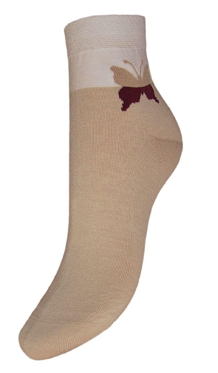 НоскиSML24Женские носки Гранд выполнены из высококачественного модала, для повседневной носки. Укороченные носки, оформленные рисунком бабочка на паголенке, изготовлены по европейским стандартам из лучшего волокна, имеют бархатистую структуру, обладают повышенной воздухопроницаемостью, не линяют после стирок. Благодаря свойствам эластана, не теряют первоначальный вид. Используя европейские стандарты на современных вязальных автоматах, компания Гранд предоставляет покупателю высокое качество изготавливаемой продукции.